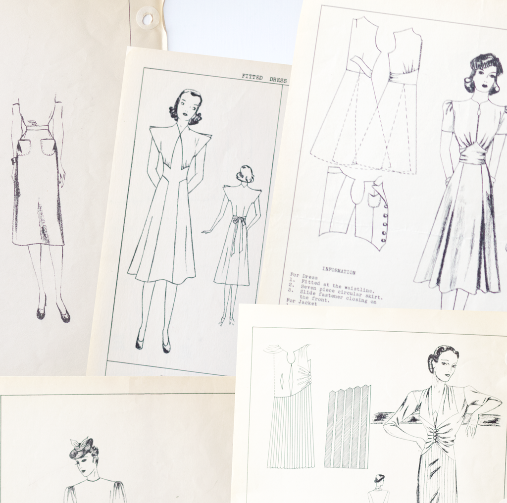 5 Ways to be inspired by vintage sewing patterns featured image