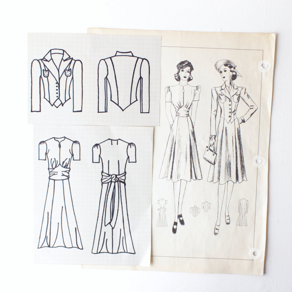 How To Bring A Vintage Sewing Pattern To Life: Part One