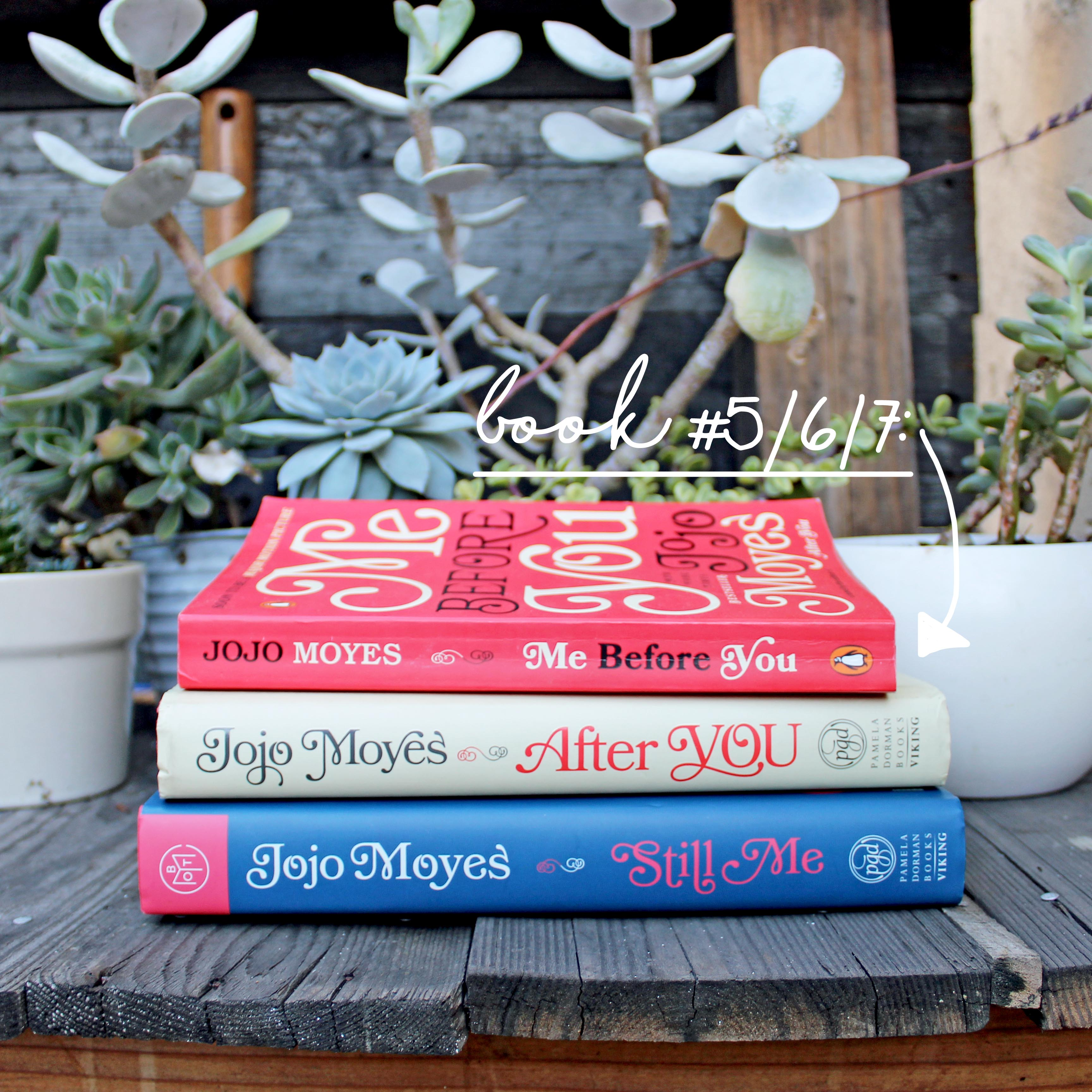 """5 Favorite Sewing Projects & Reads """"Me Before You/After You/Still Me"""""""