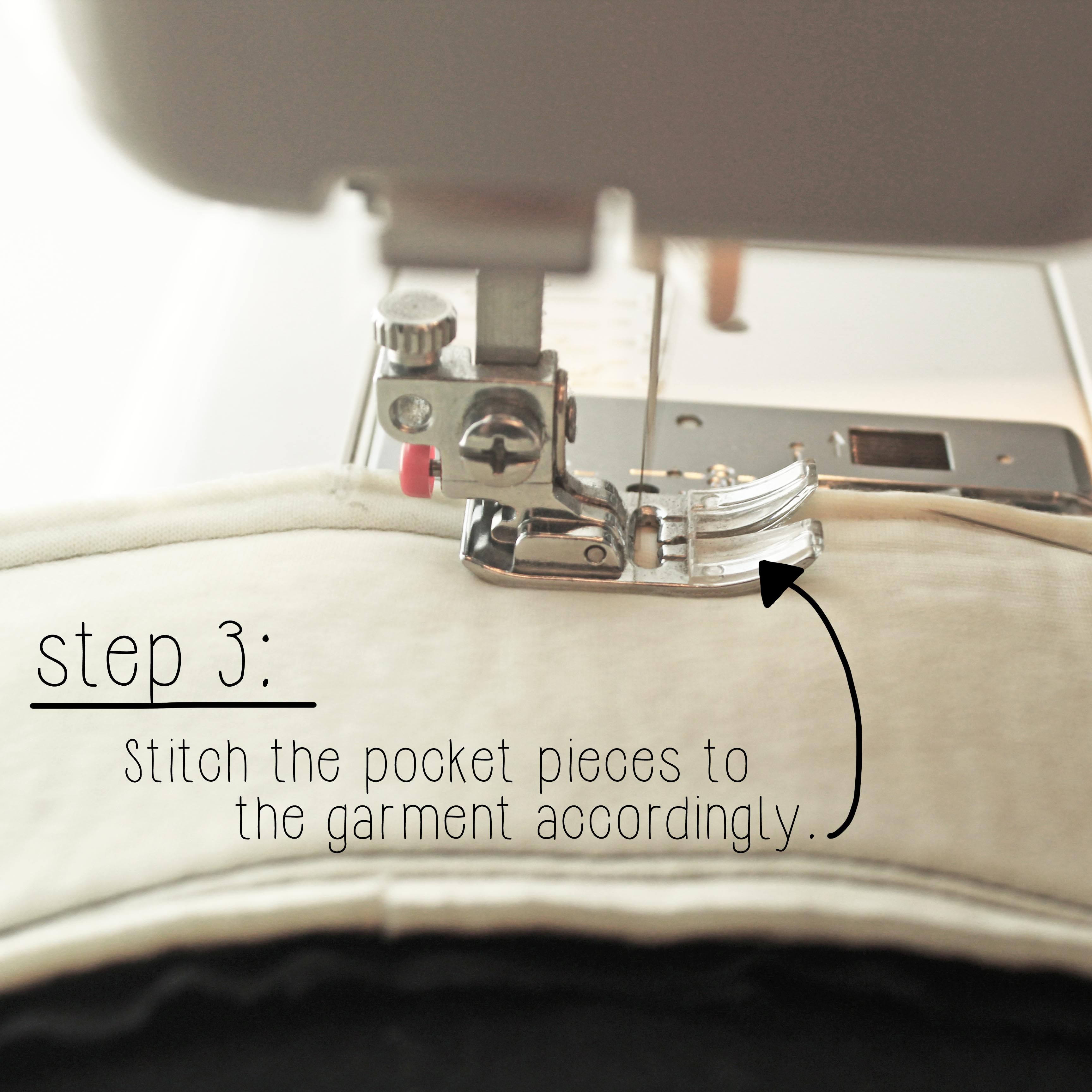 The Ashby Coat Sewing Tutorial Garment Construction Sewing Technique Step 3
