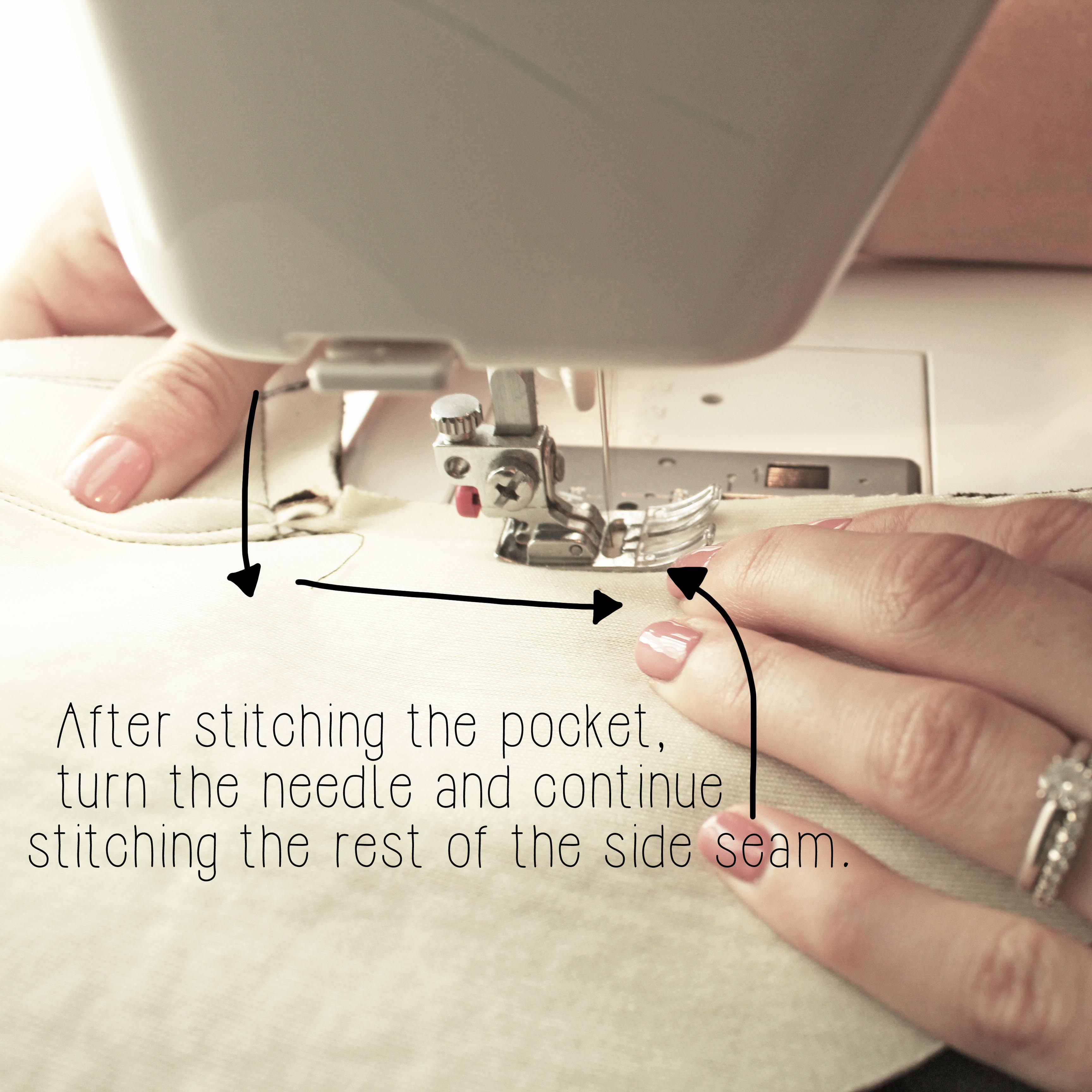 The Ashby Coat Sewing Tutorial Garment Construction Sewing Technique Step 6.3 Finish Sewing