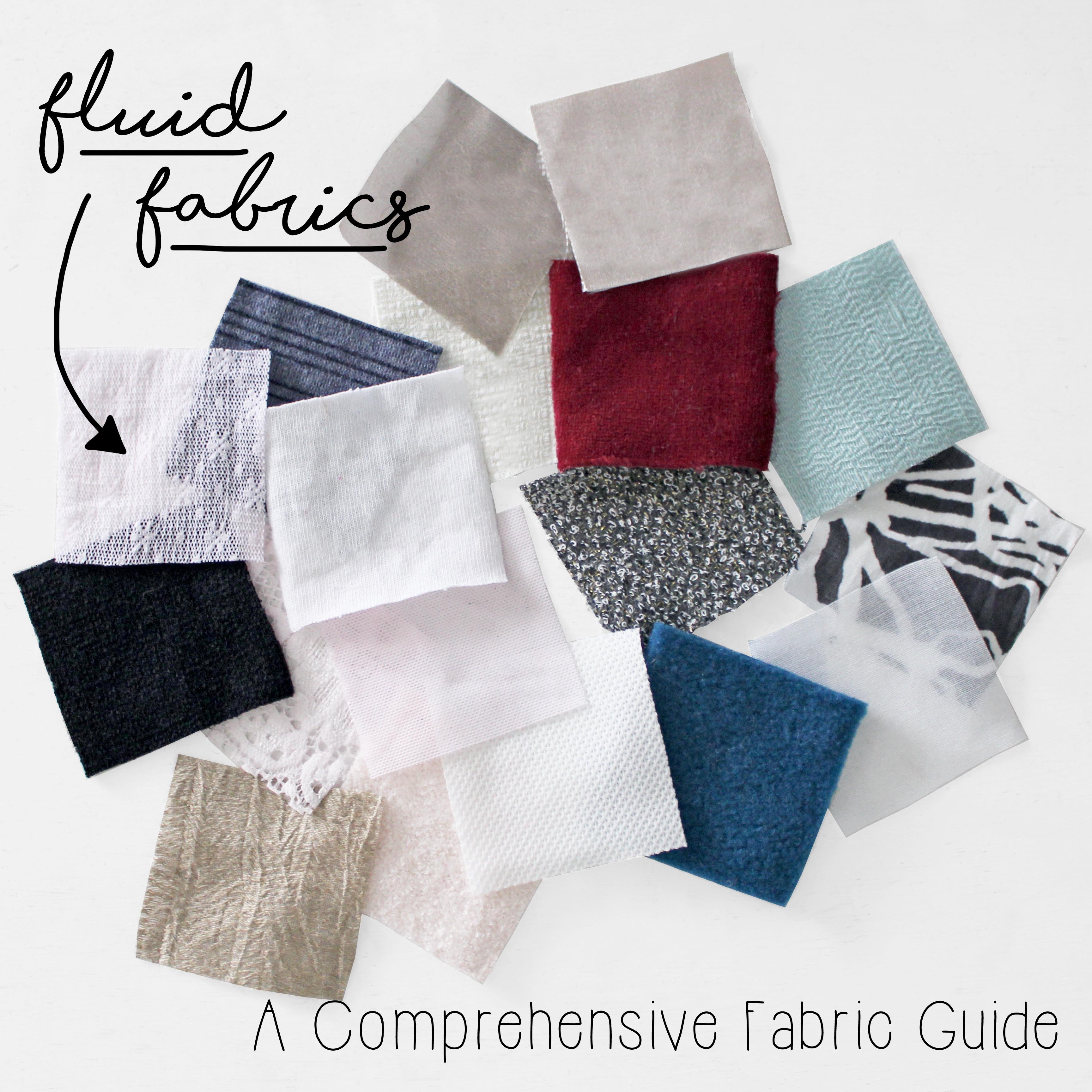 Comprehensive Fabric Guide Fluid Fabric Swatches