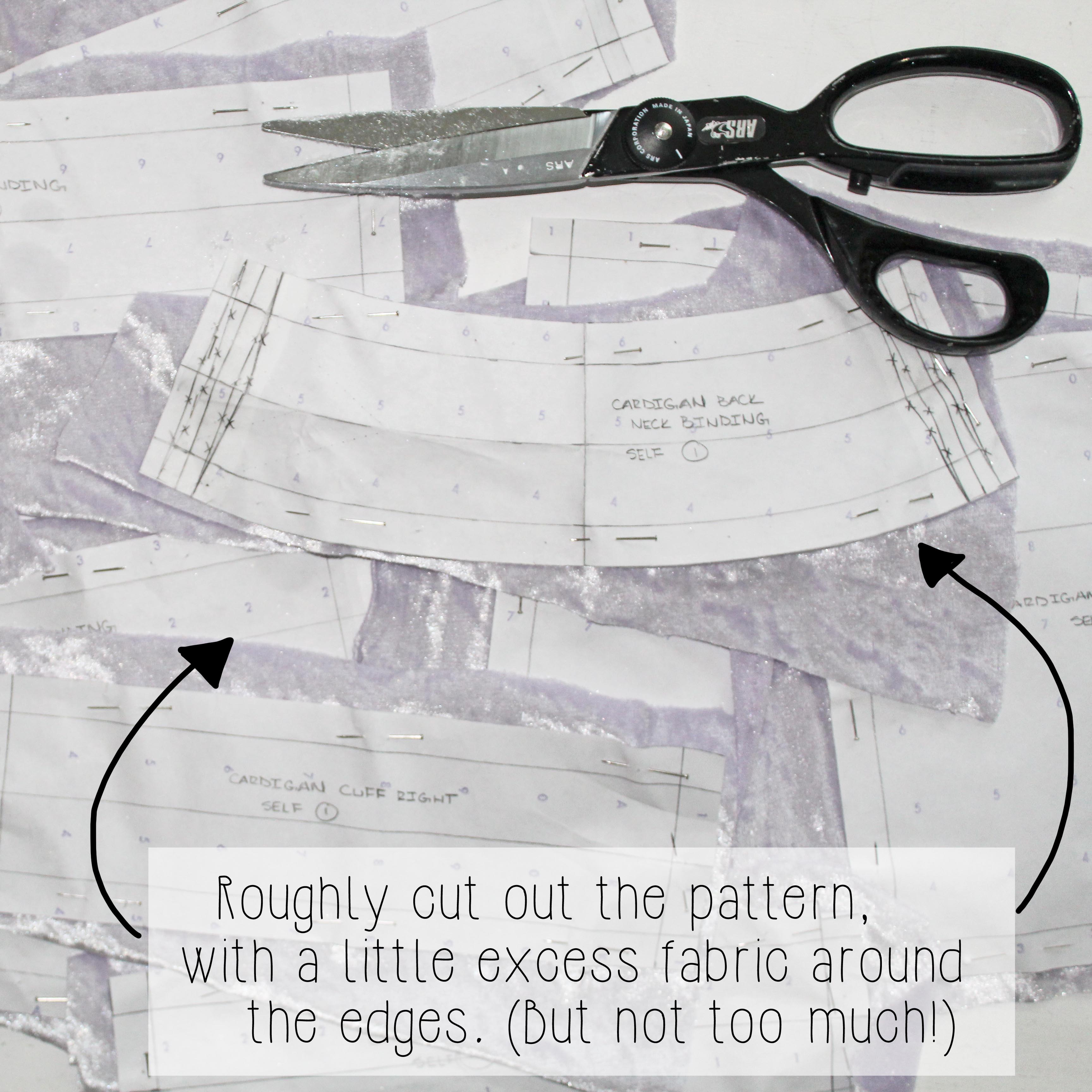 How To Cut A Sewing Pattern Cutting