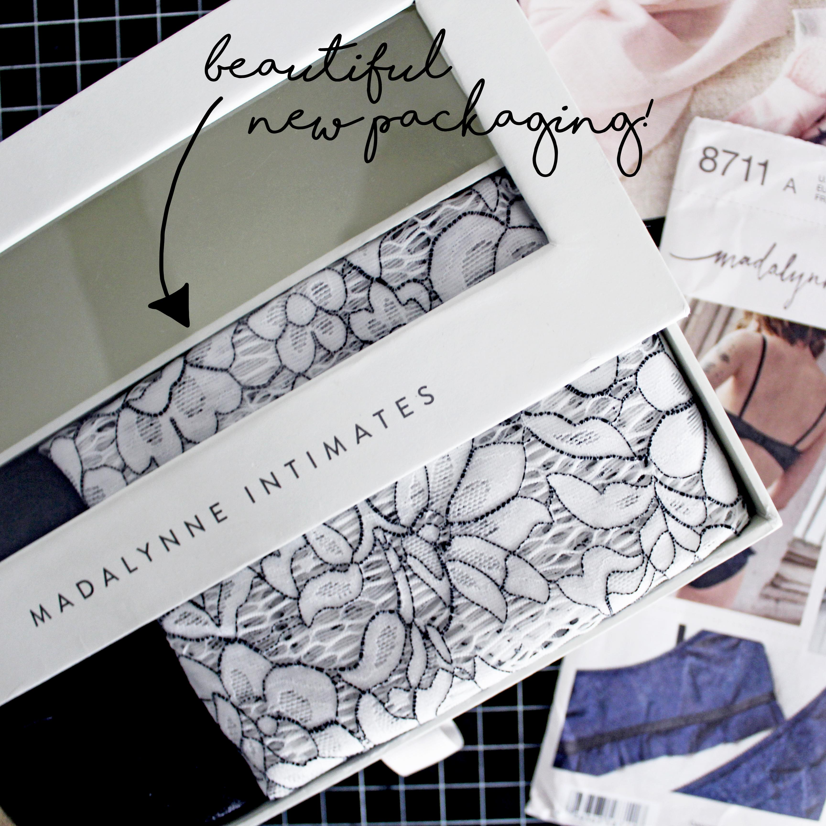 DIY Sewing Project Kit Madalynne Packaging
