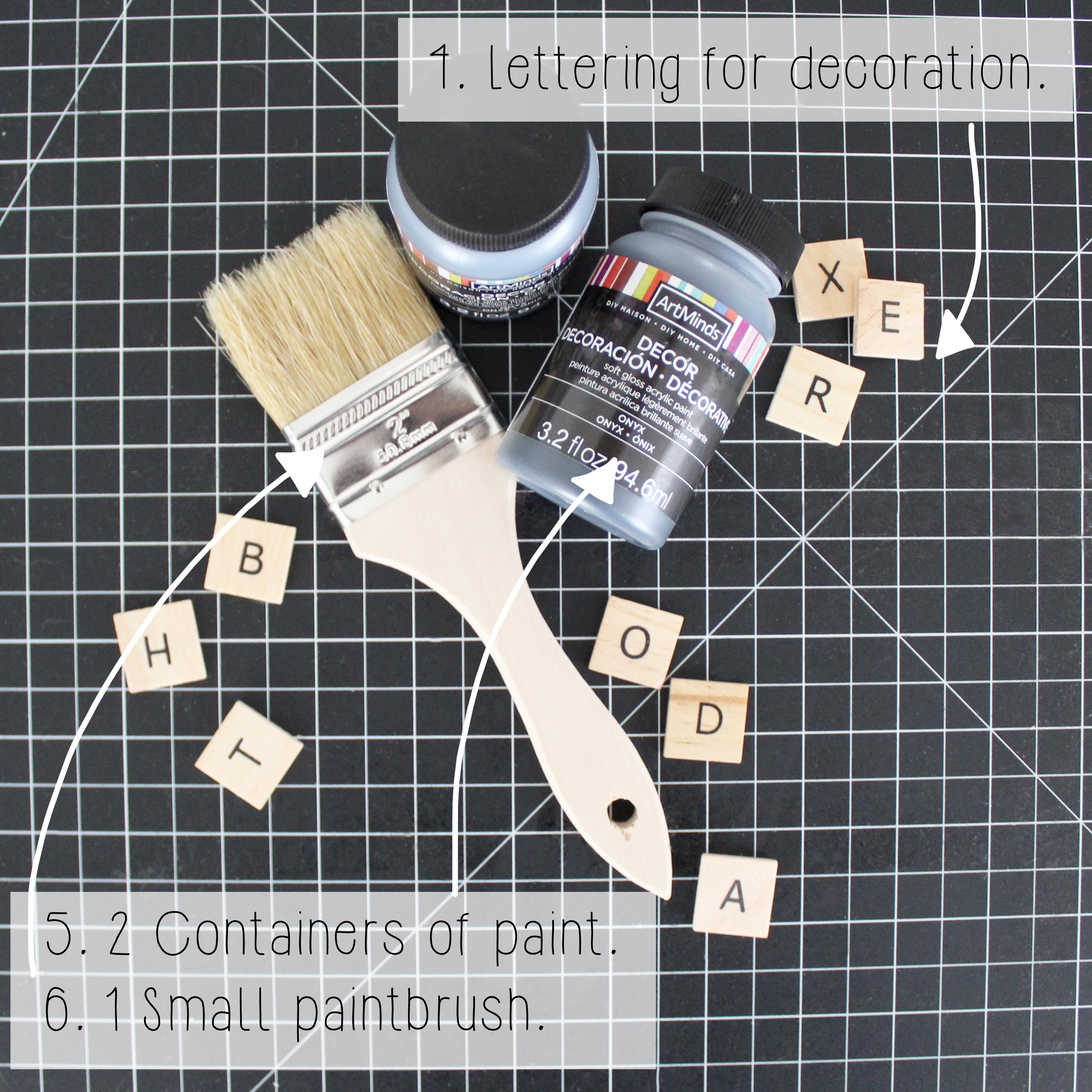 DIY Thread Box Miscellaneous Shopping List