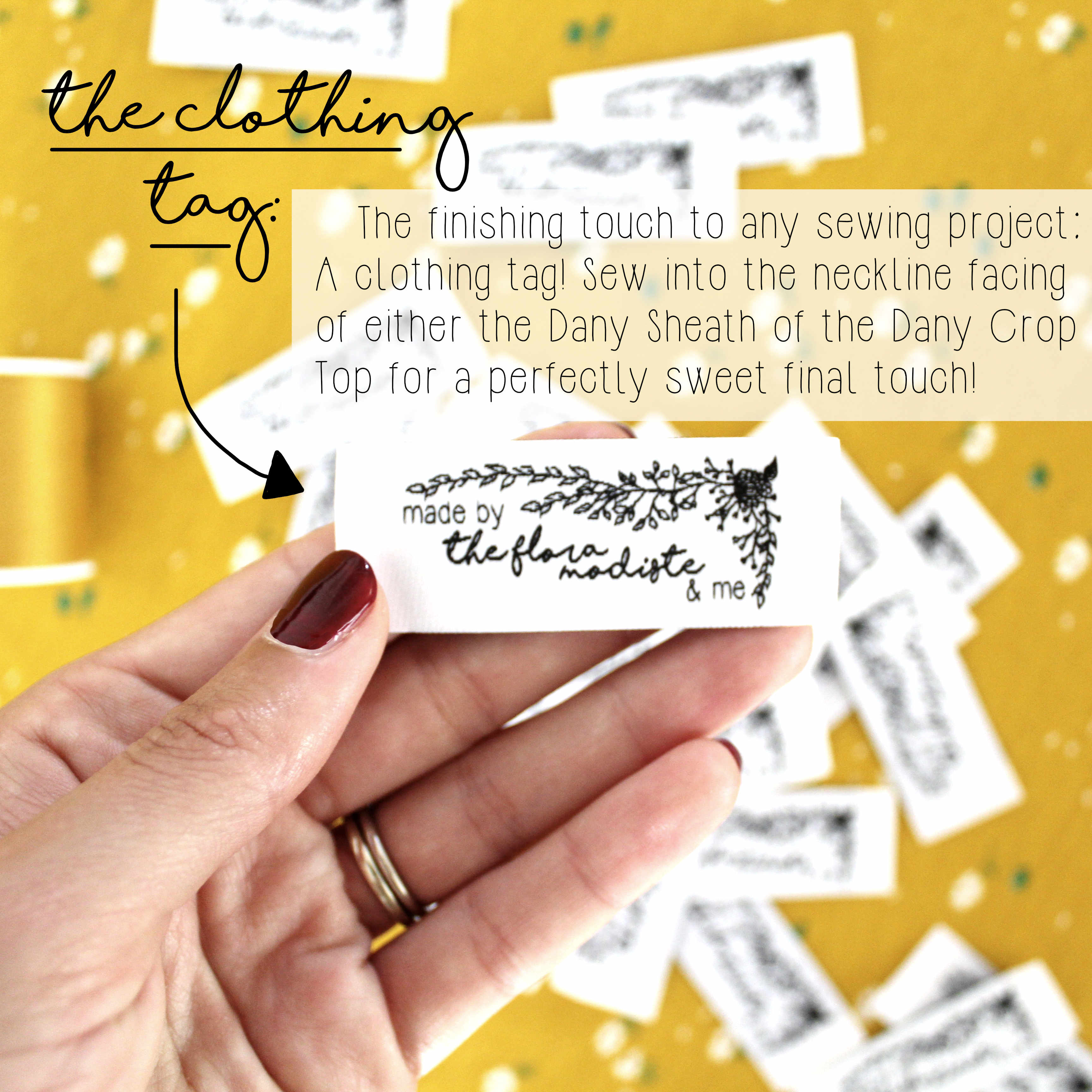 A Breakdown of the Dany DIY Sewing Project Kit: The Clothing Tag