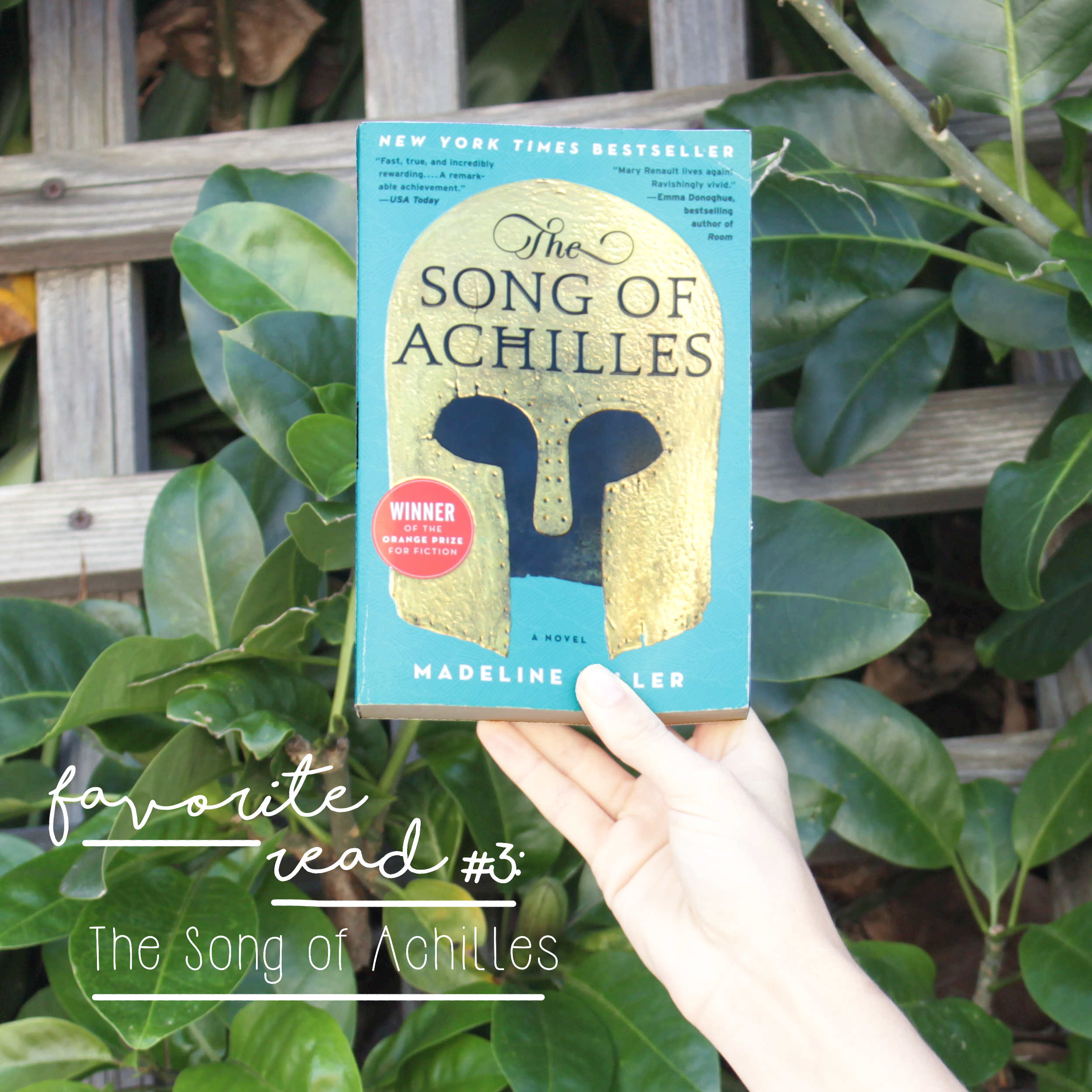 """Favorite Sewing Projects & Reads: """"The Song of Achilles"""""""