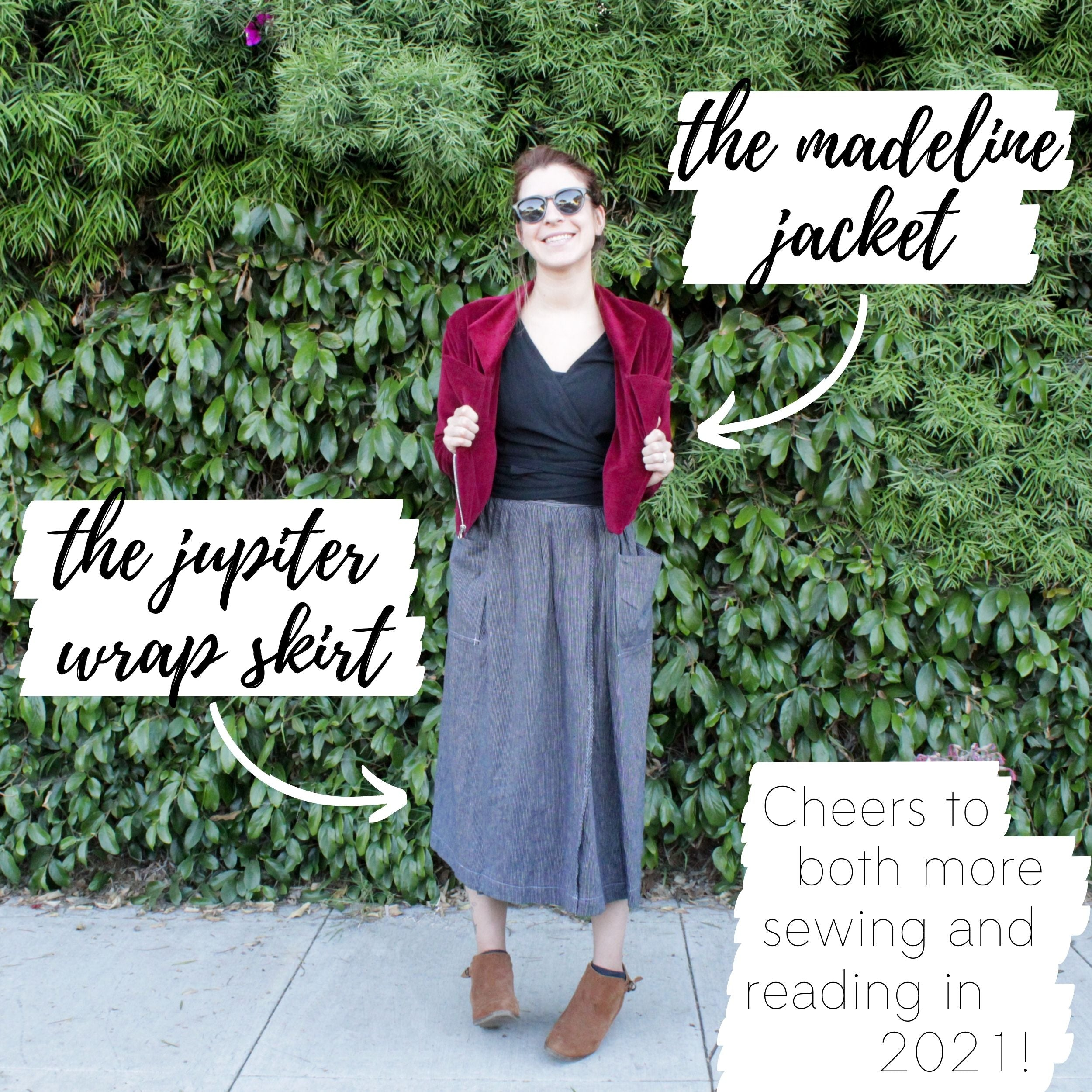 Favorite sewing projects of the year: Cheers to more sewing!