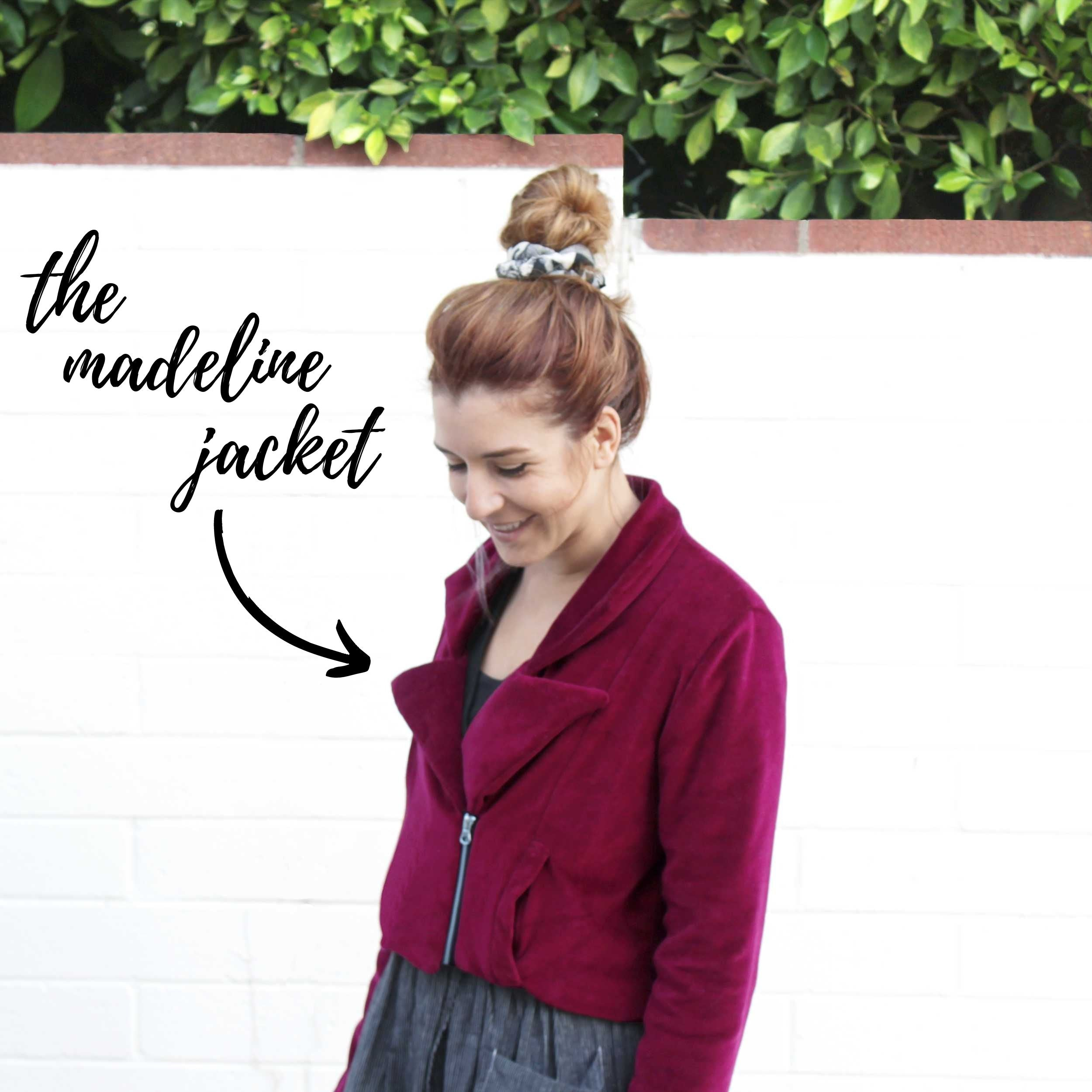 My favorite sewing projects of the year: The Madeline Jacket