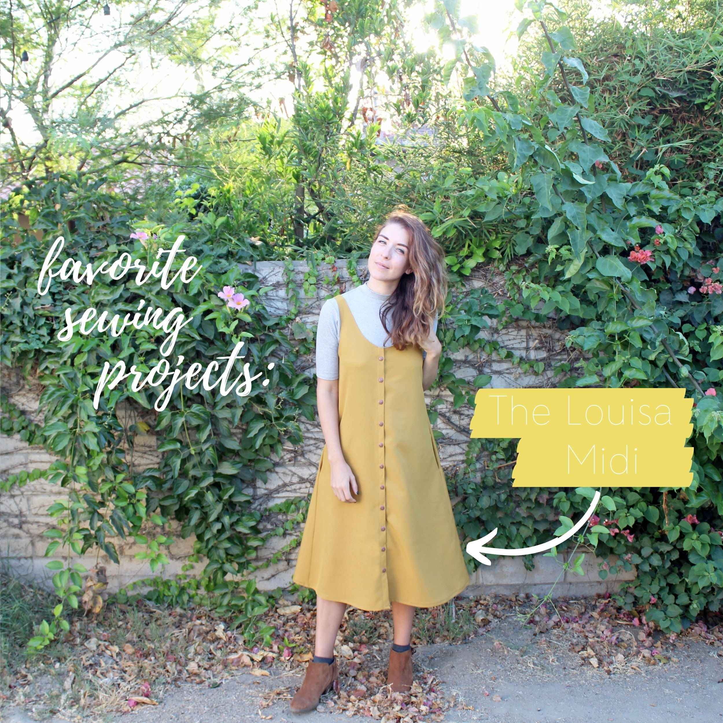 5 Favorite Sewing Projects & Reads The Louisa Midi