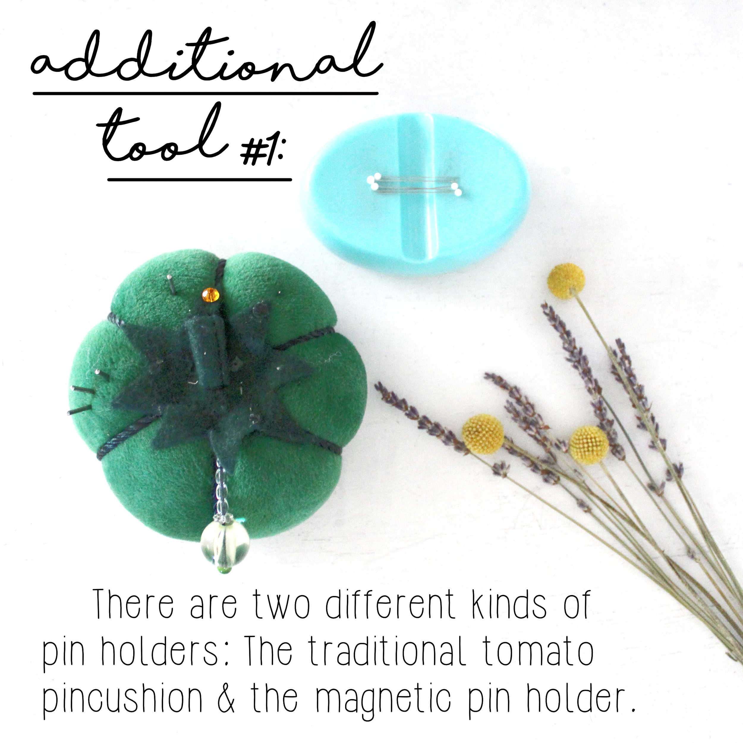 How To Build A Sewing Kit: Additional Tool #1, Pin Holder