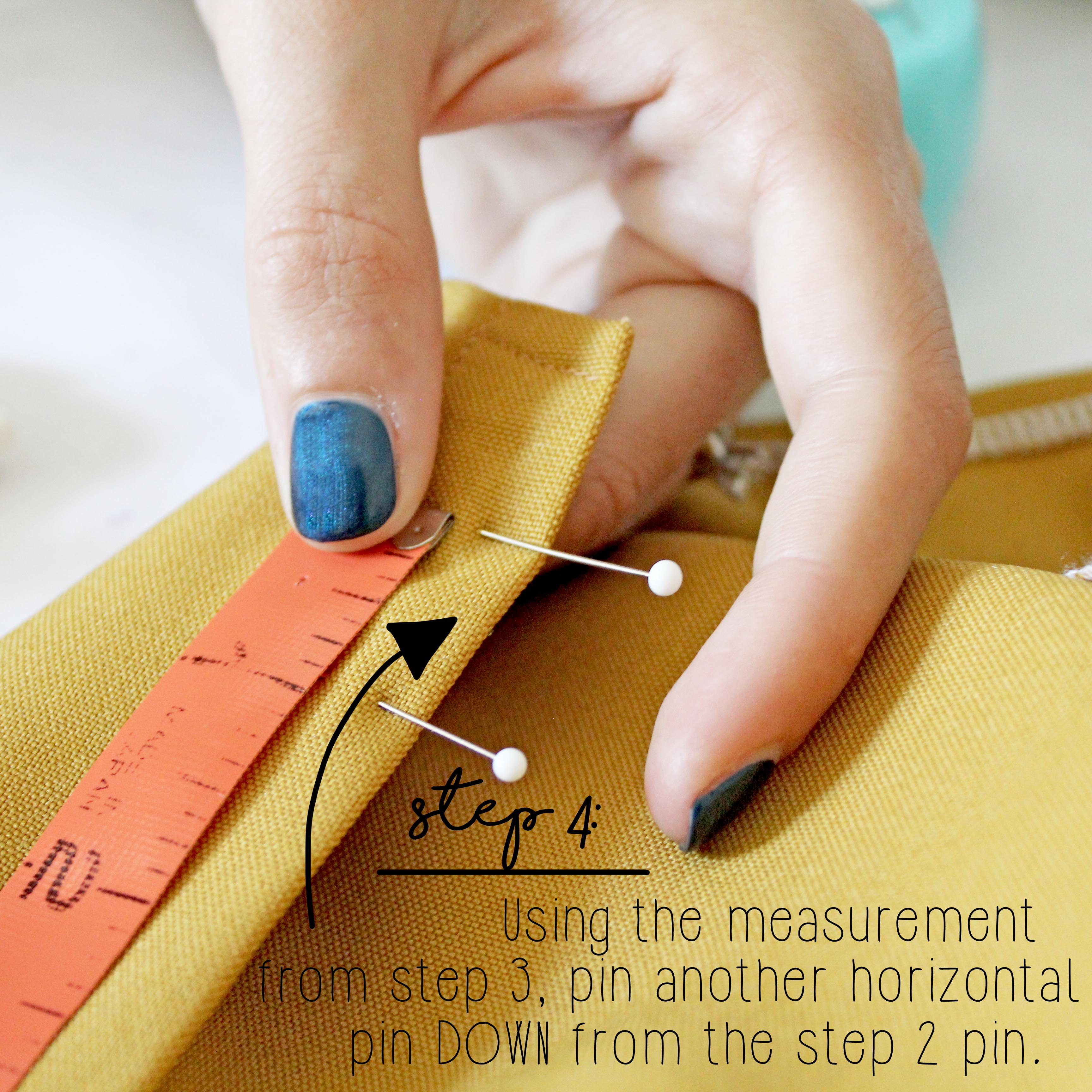 How To Sew A Button Sewing Tutorial Step 4