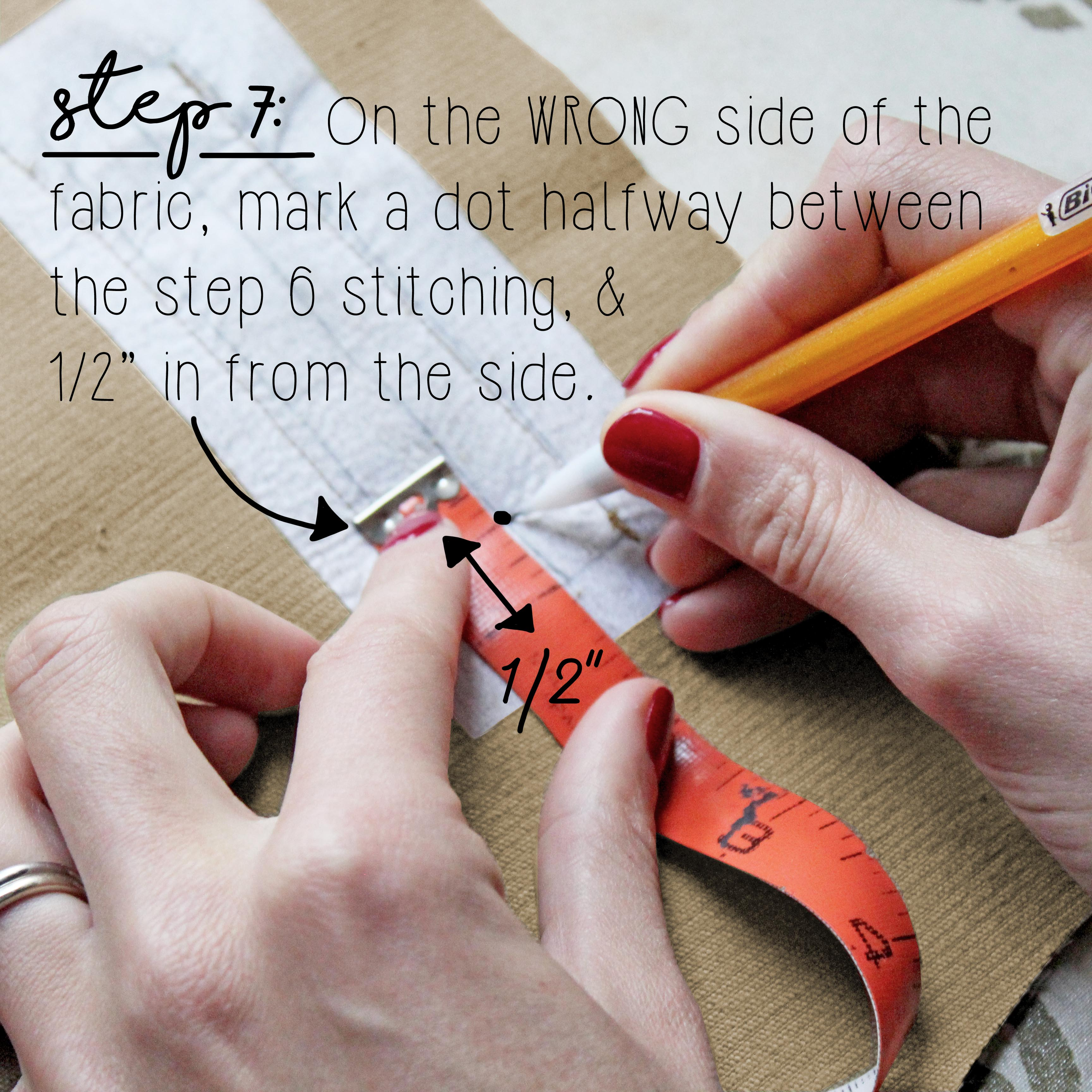 How To Sew A Double Welt Pocket Sewing Tutorial: Step 7