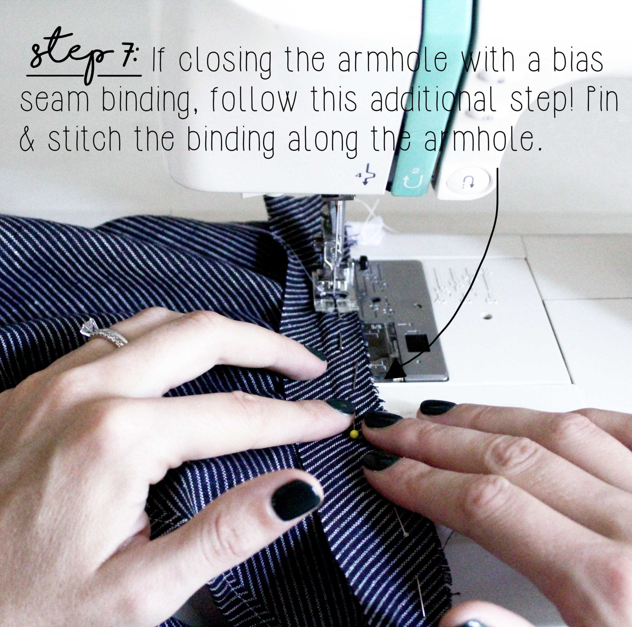 How To Sew An Invisible Zipper Sewing Tutorial: Step 7