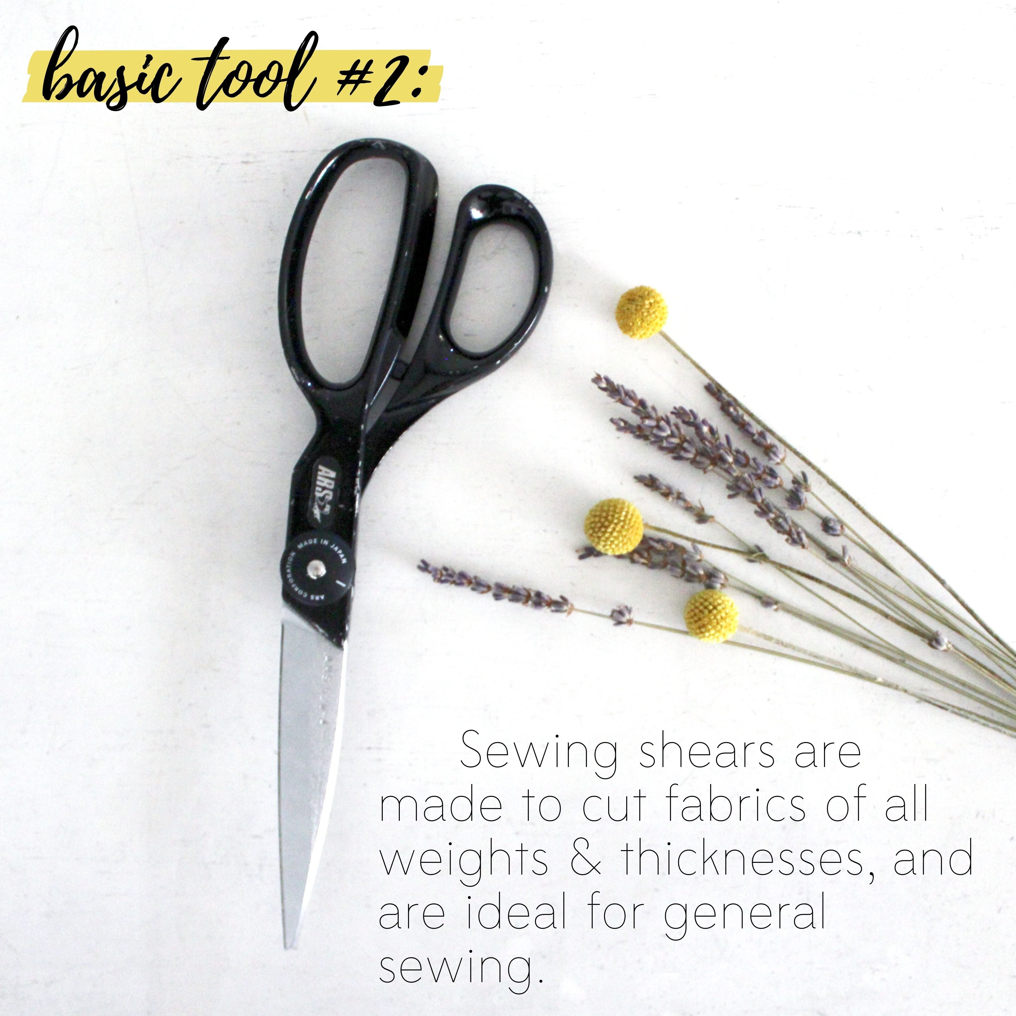 How To Build A Sewing Kit: Basic Tool #2, Fabric Scissors
