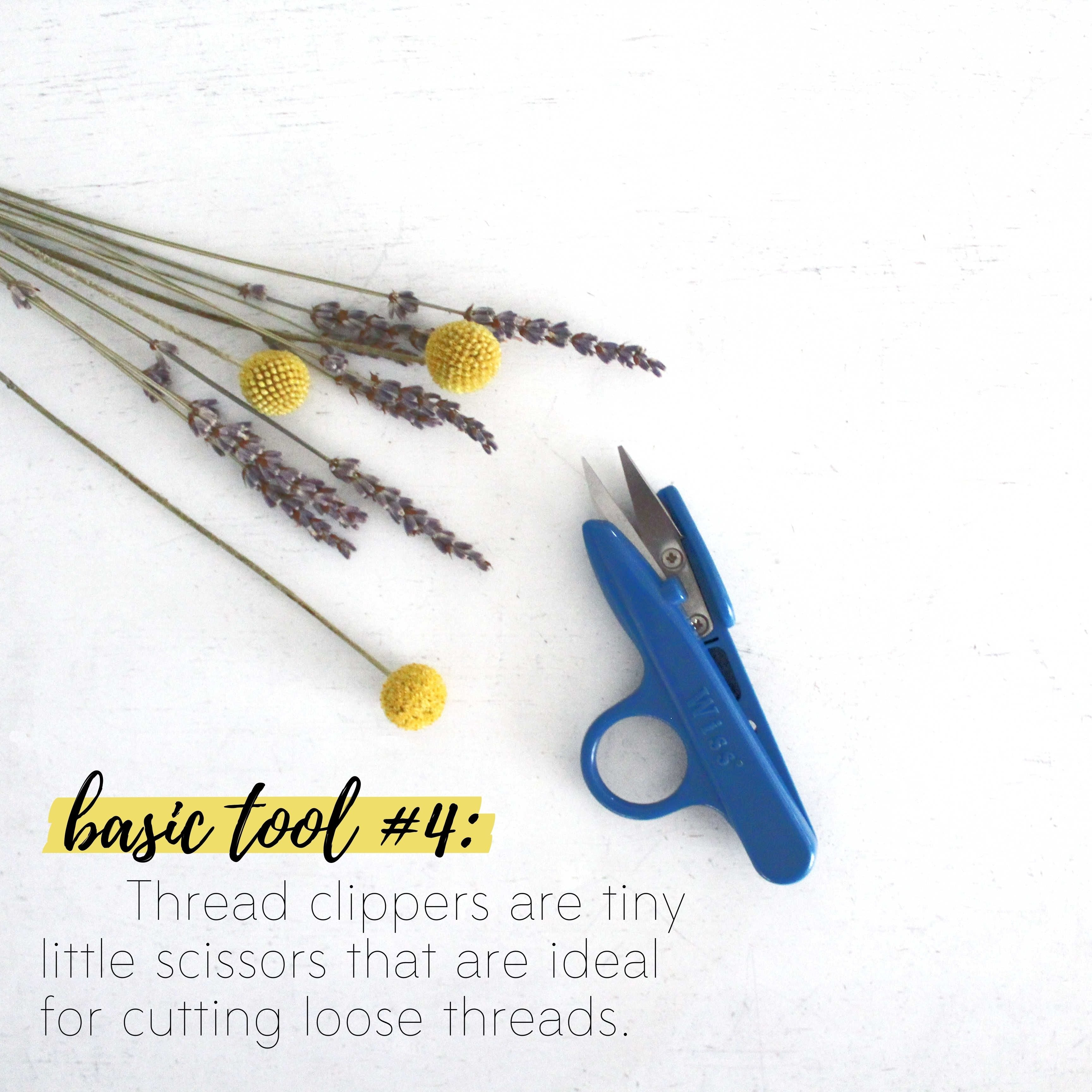 How To Build A Sewing Kit: Basic Tool #4, Thread Clipper