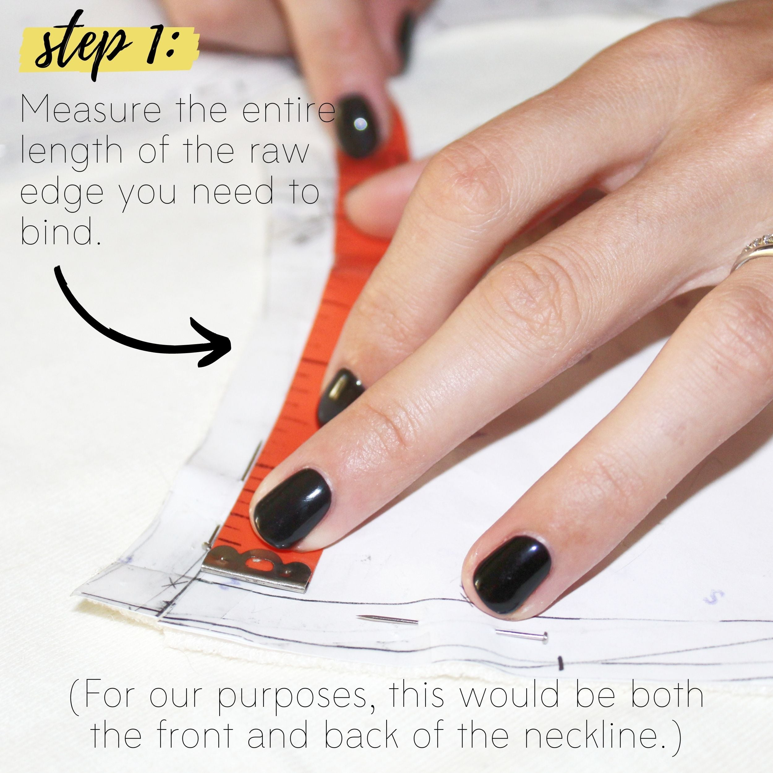 How To Sew A Knit Seam Binding Sewing Tutorial: Step 1
