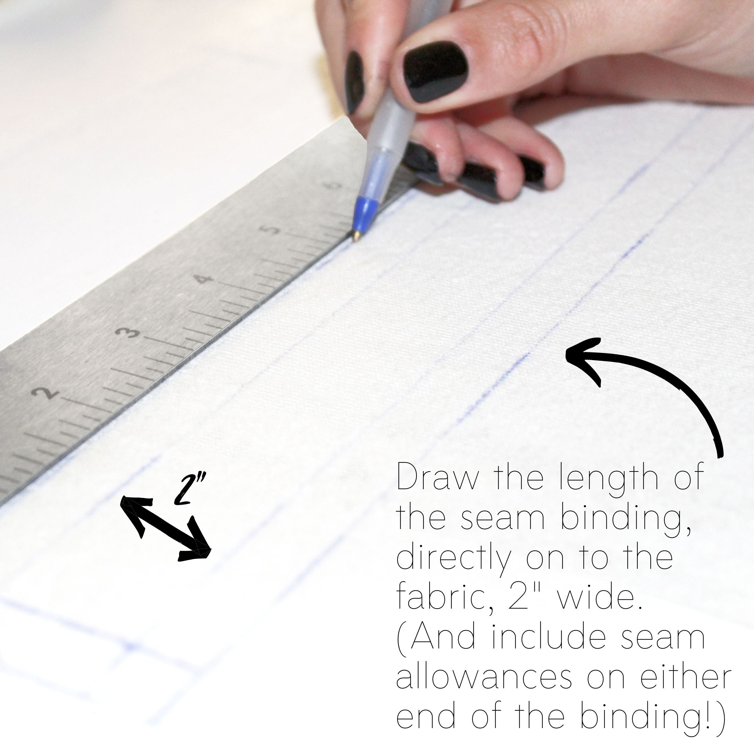 How To Sew A Knit Seam Binding Sewing Tutorial: Step 1.1