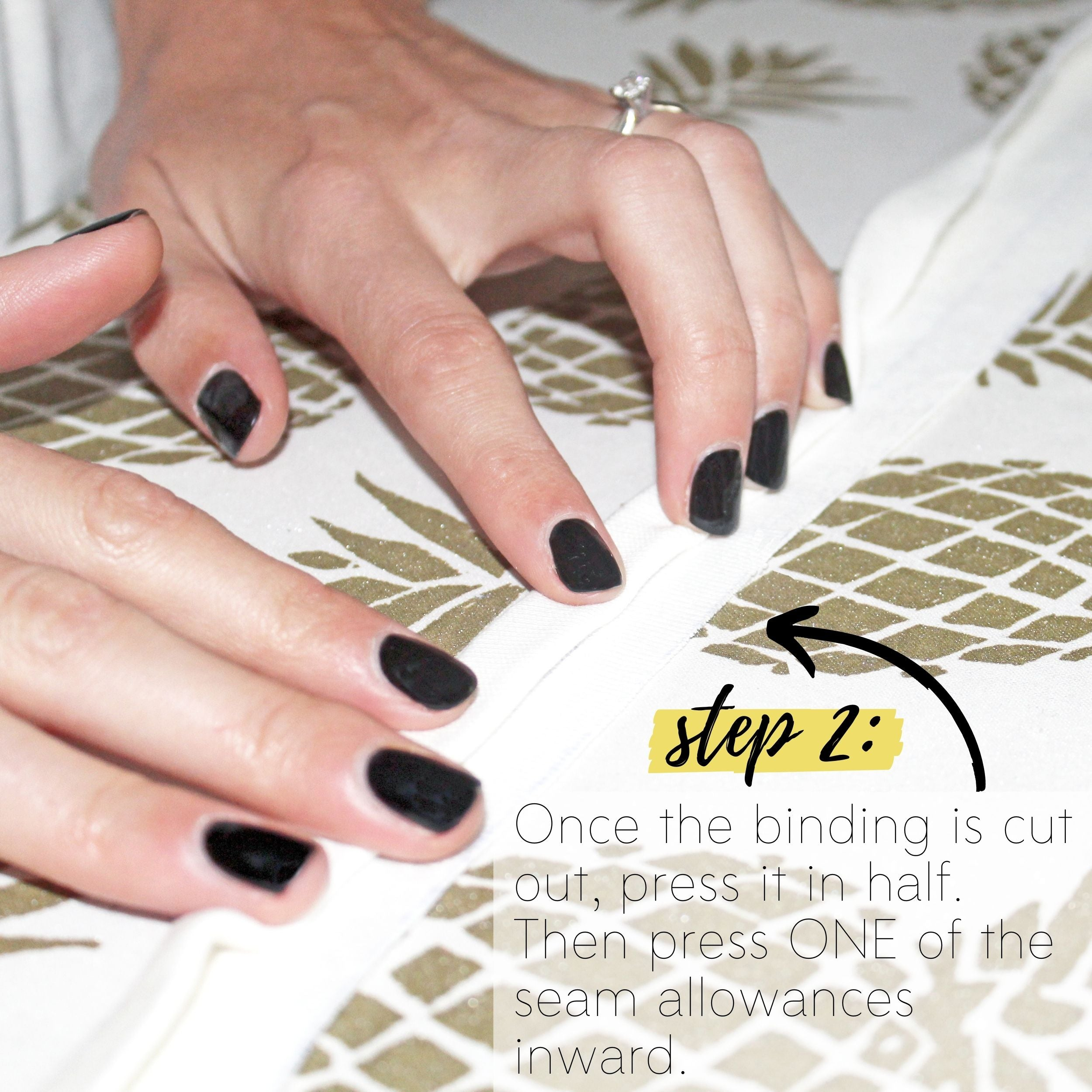 How To Sew A Knit Seam Binding Sewing Tutorial: Step 2
