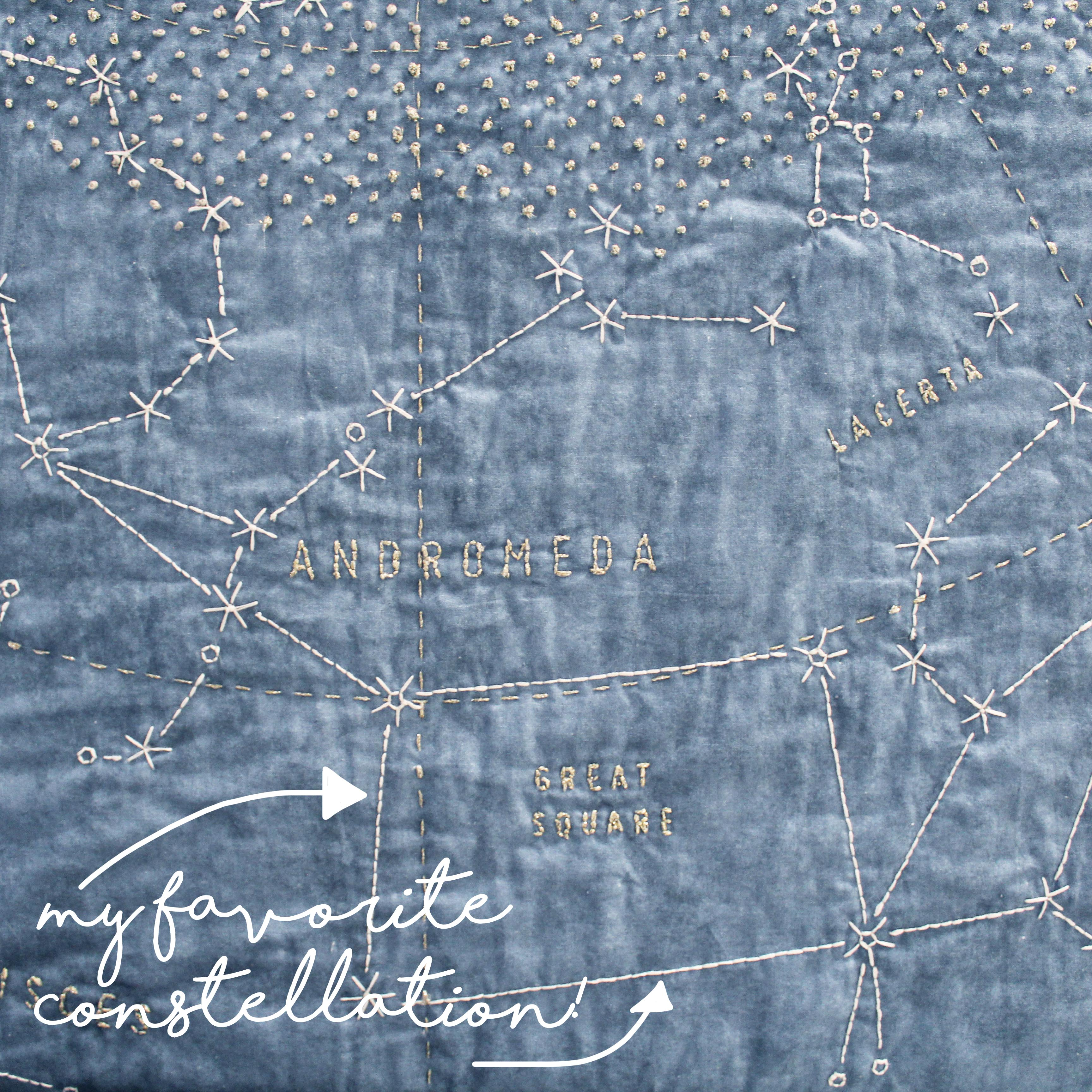 Quilting For Beginners: DIY Constellation Quilt Tips & Tricks Favorite Constellation