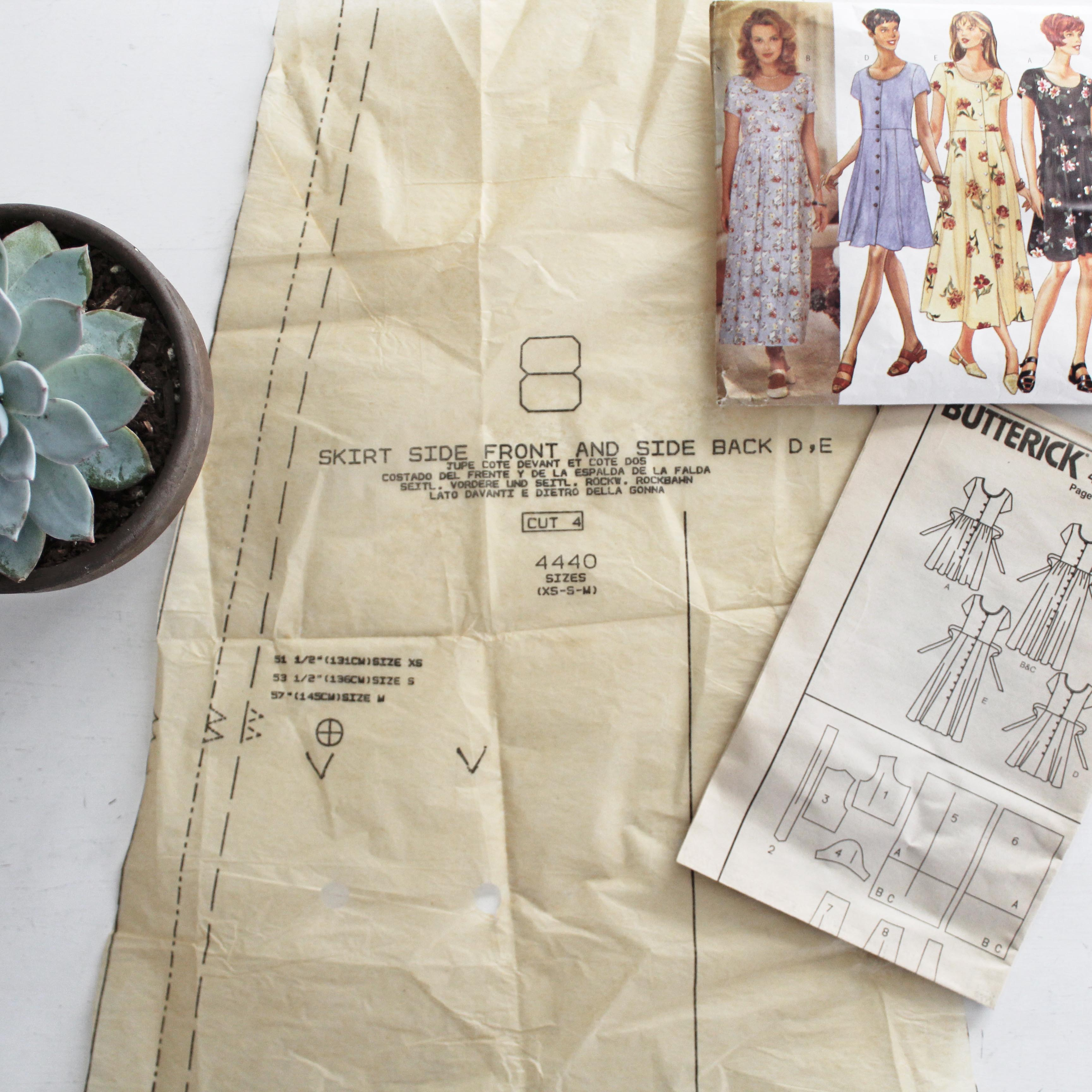 How To Read A Sewing Pattern Final Layout