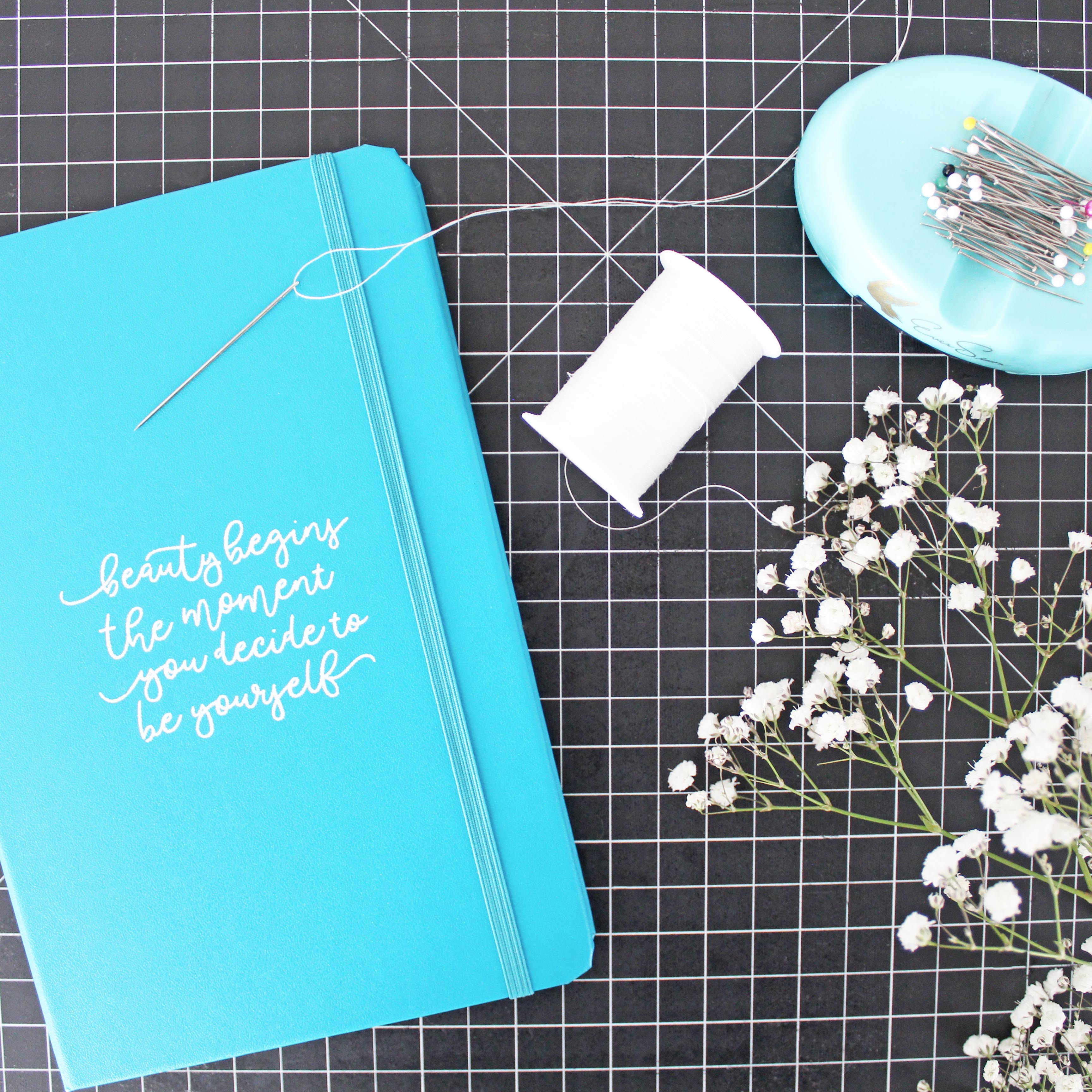 Repair Your Own Clothes Journal, Sewing Needle, Pins