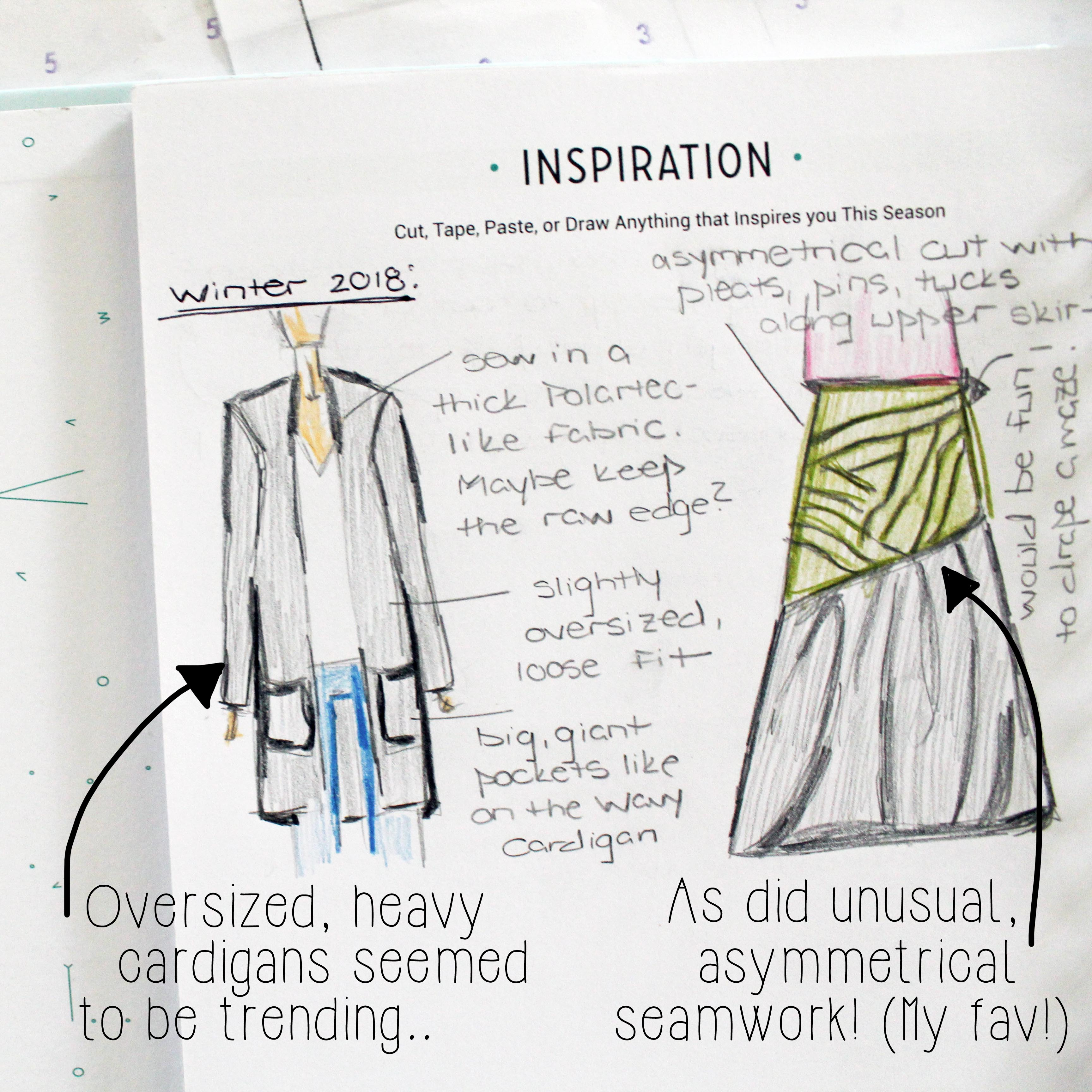 Sewing Project Planner Inspiration