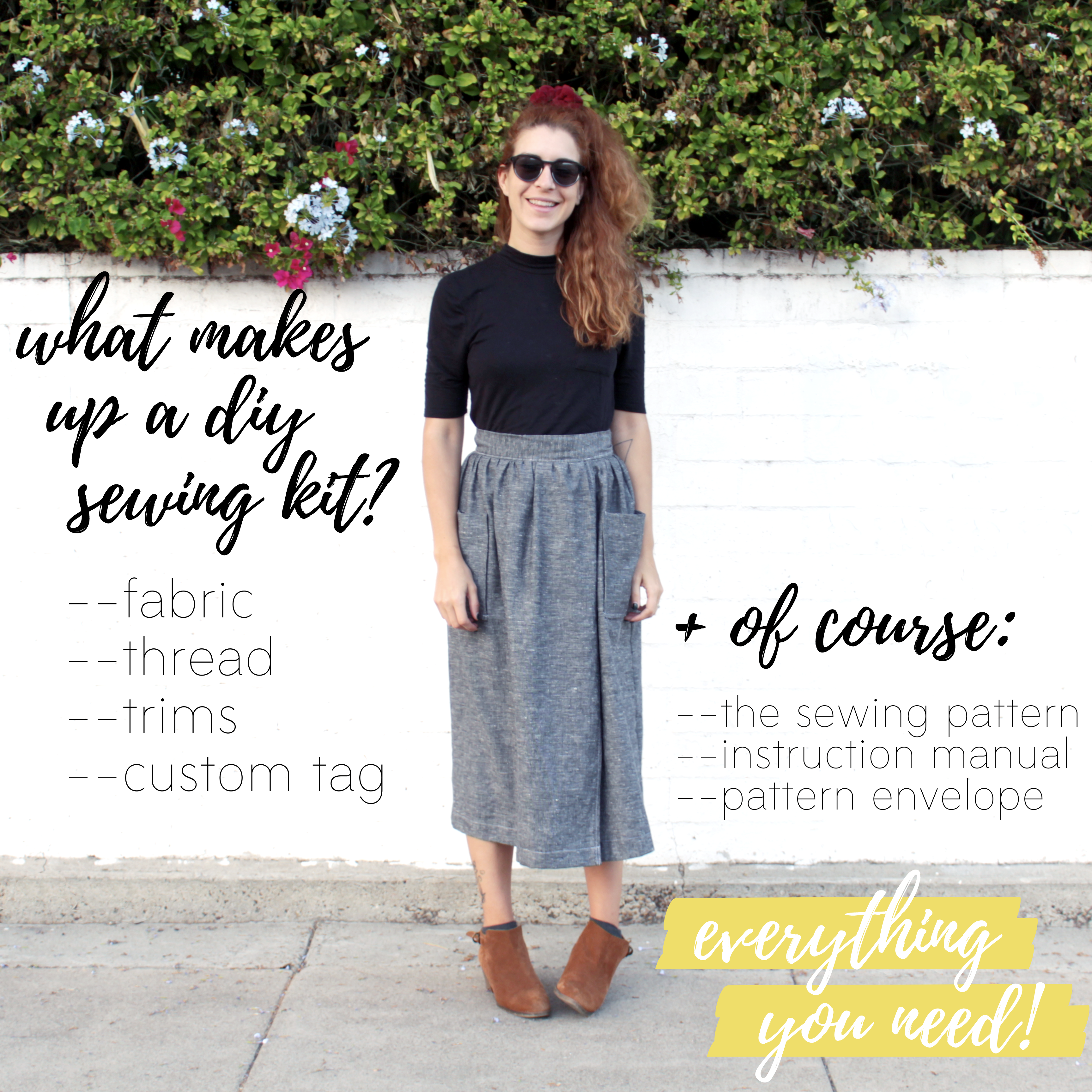 Learn how to sew your own clothes: What makes up a DIY sewing kit?