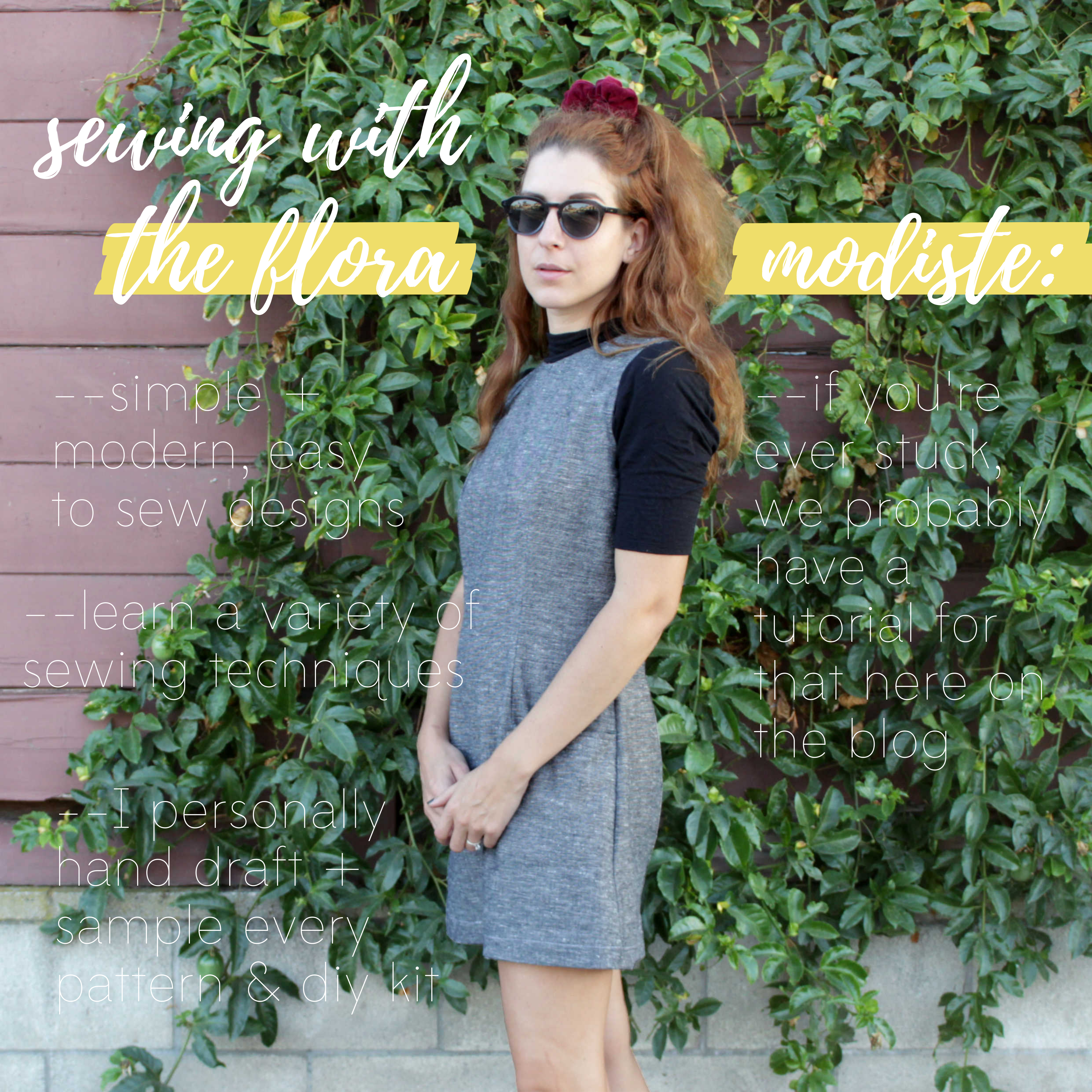 How To Sew Your Own Clothes Sewing Pattern Intro: Sewing With TFM