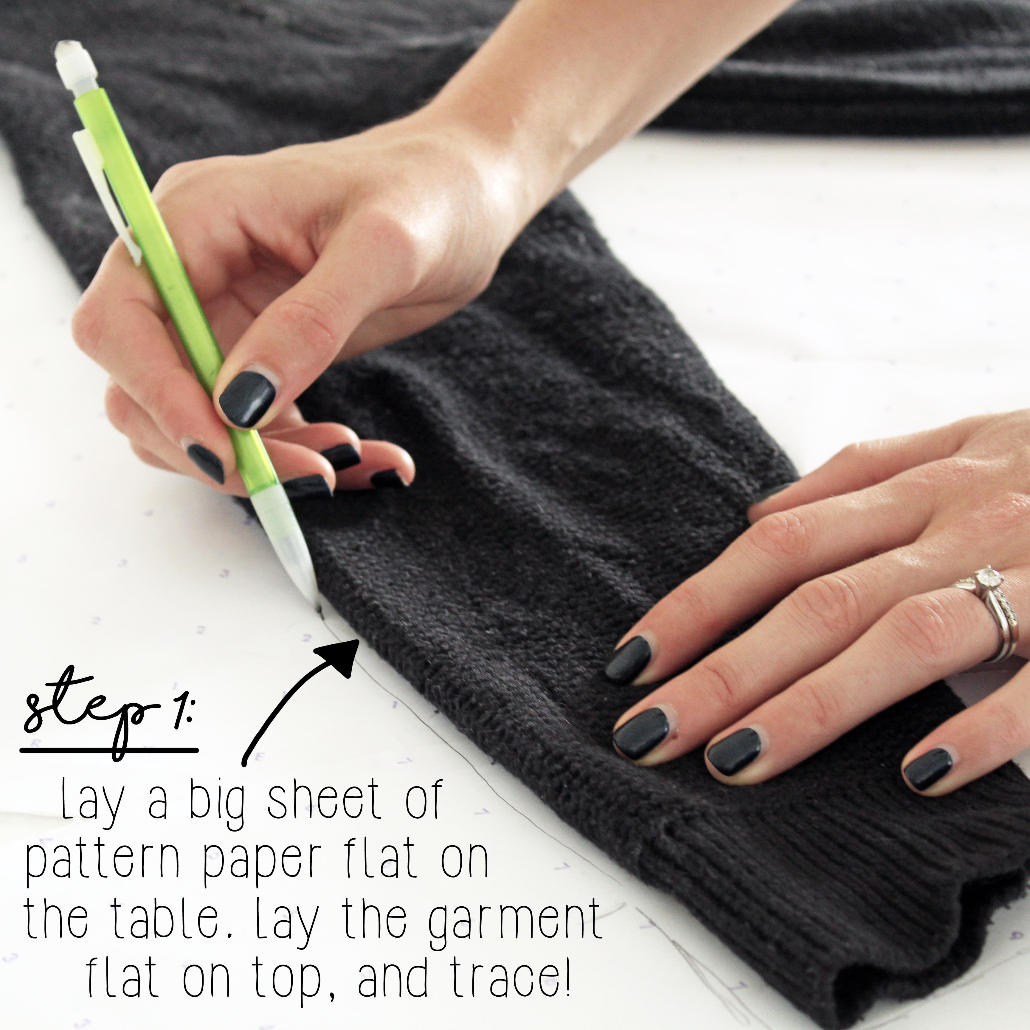 The Alice Knit Sewing Tutorial Step 1