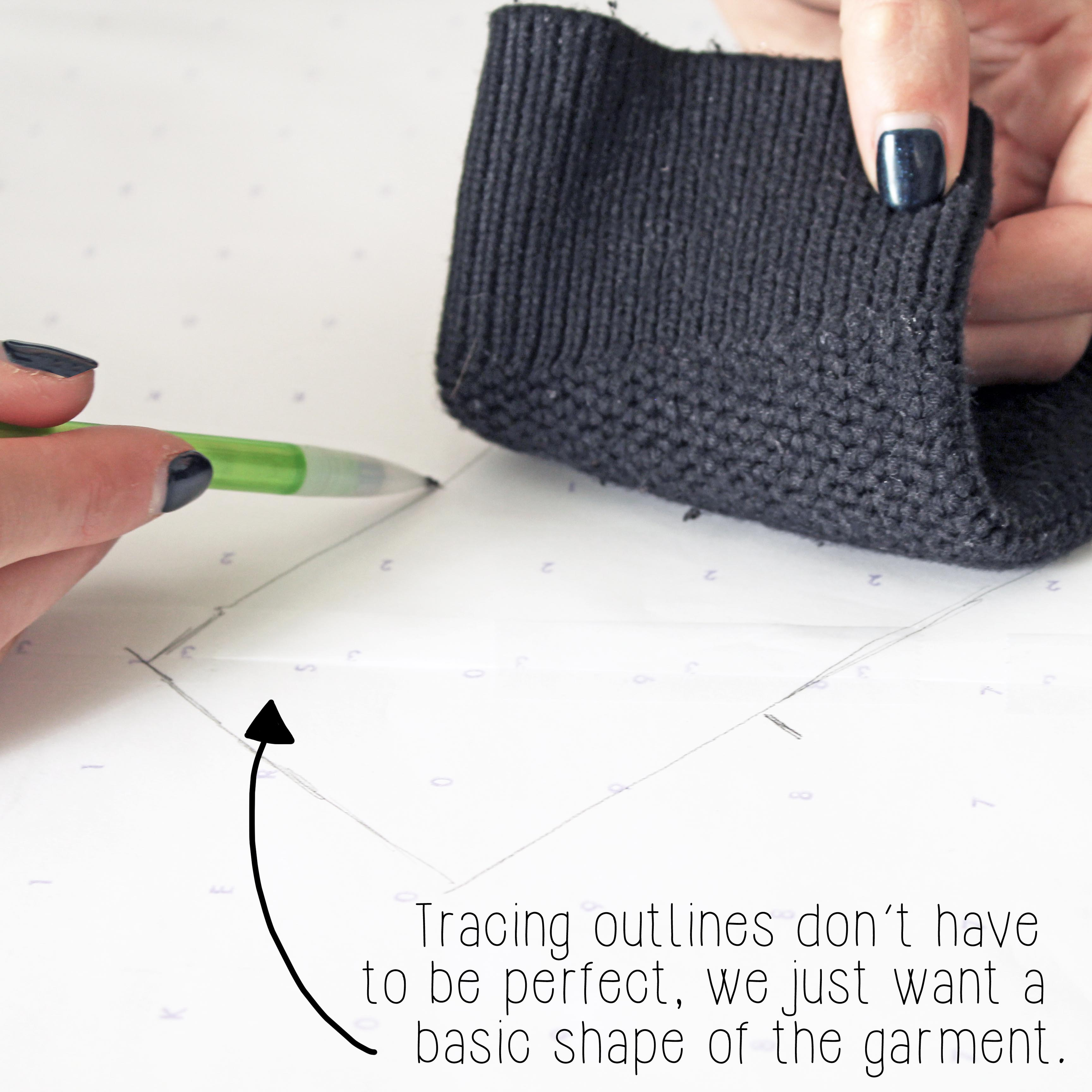 The Alice Knit Sewing Tutorial Step 1.1