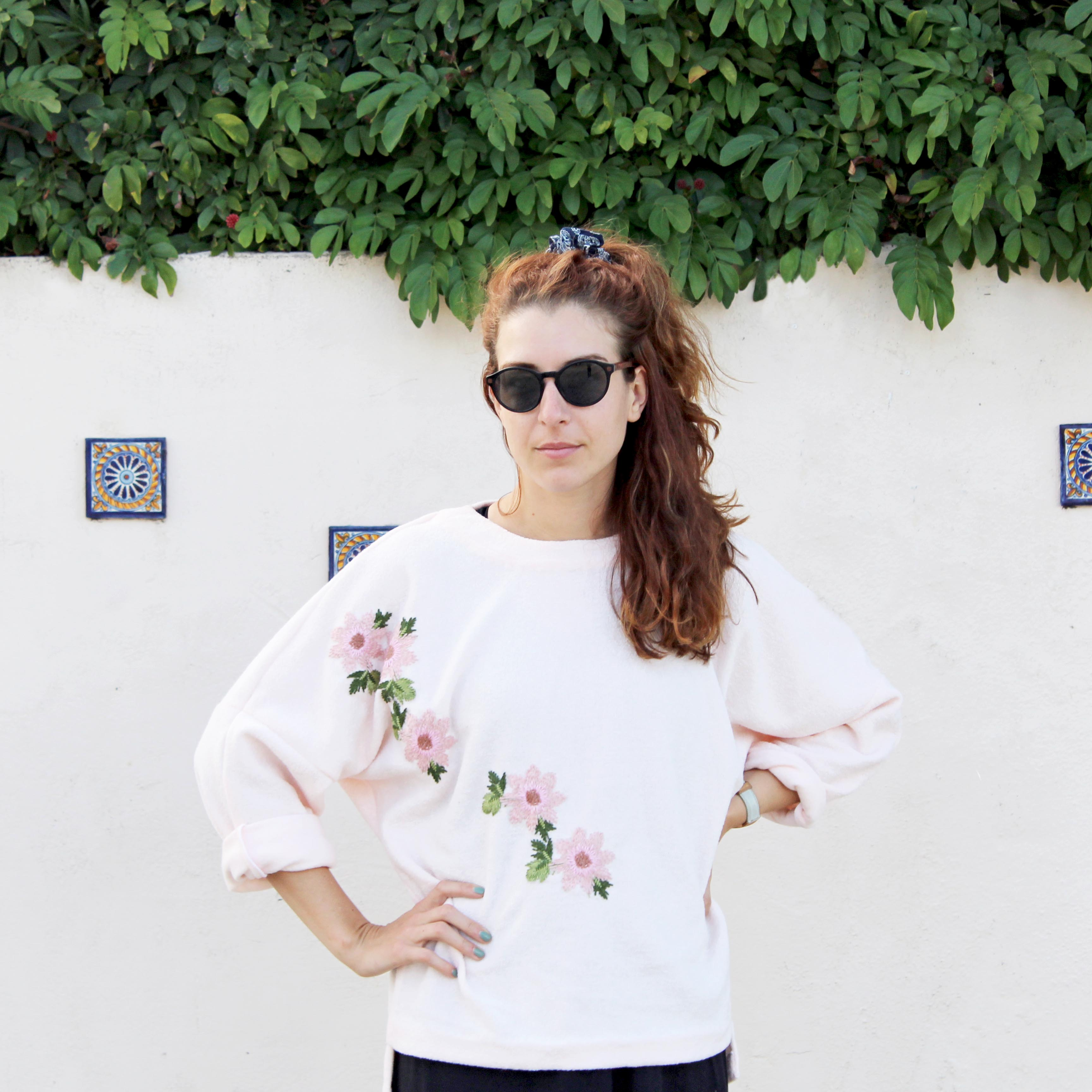 Easy Sewing Project: The Deandra Knit Front View