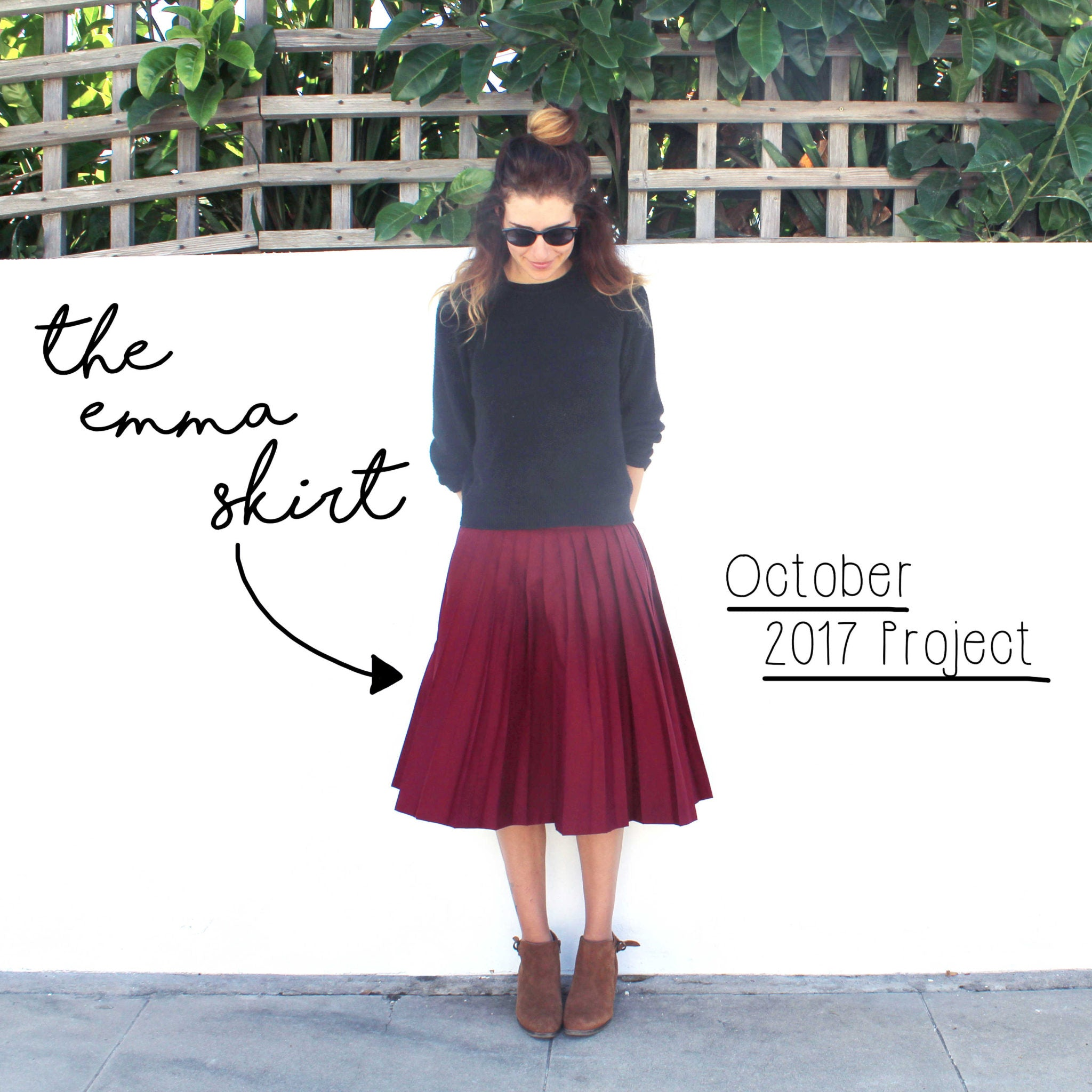 The Flora Modiste Easy Sewing Projects Introduction: The Emma Skirt
