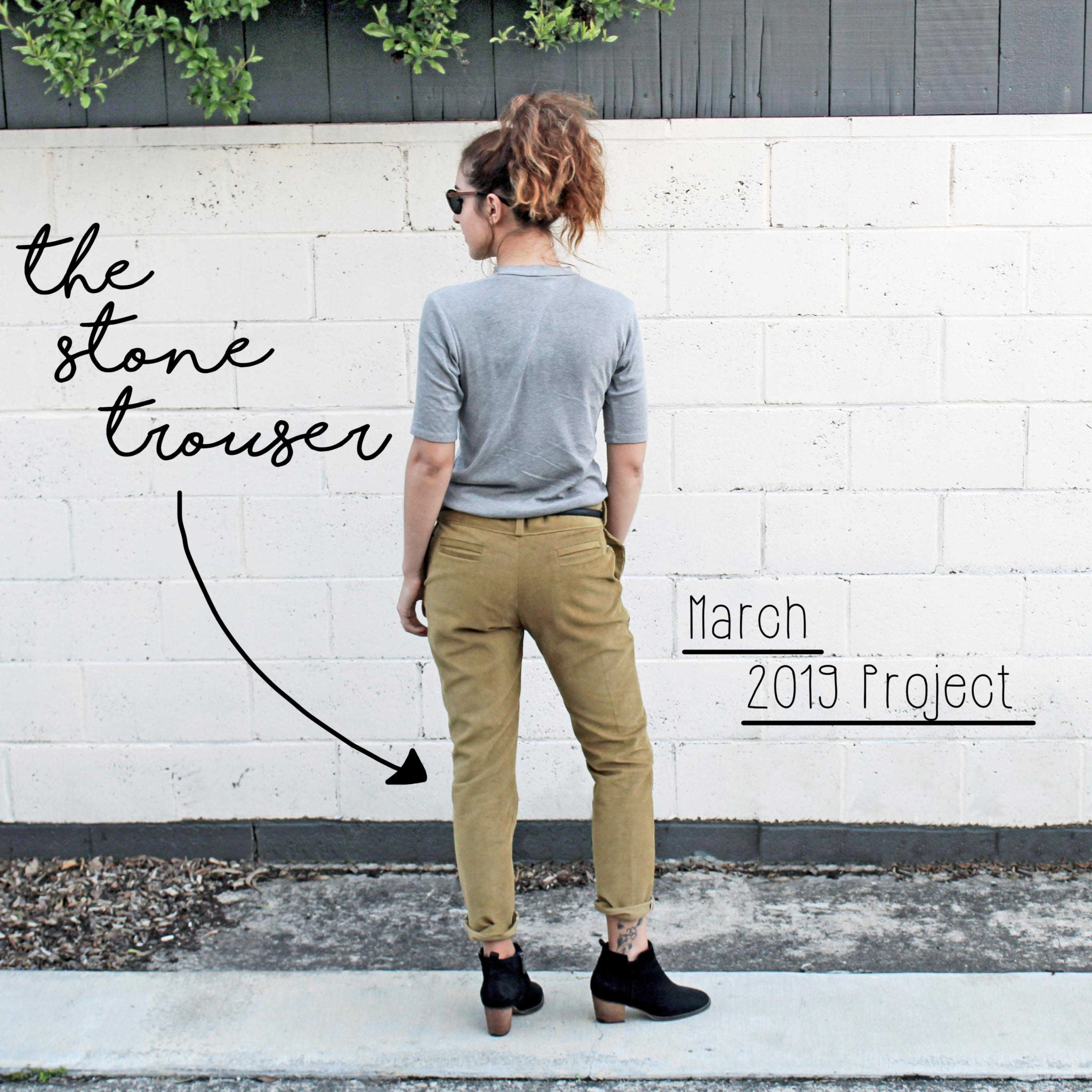 The Flora Modiste Easy Sewing Projects Introduction: The Stone Trouser