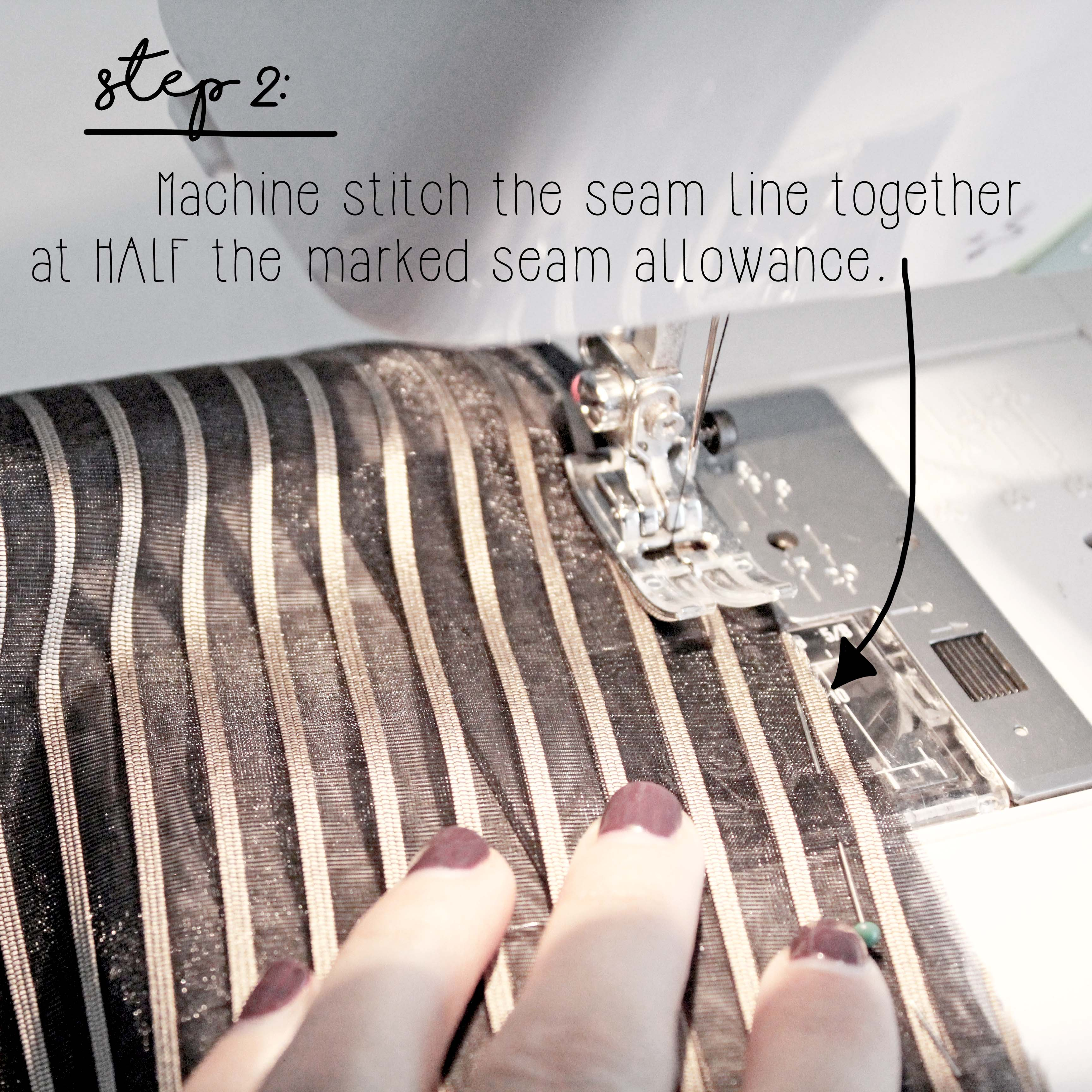 How To Sew A French Seam Sewing Tutorial Step 2
