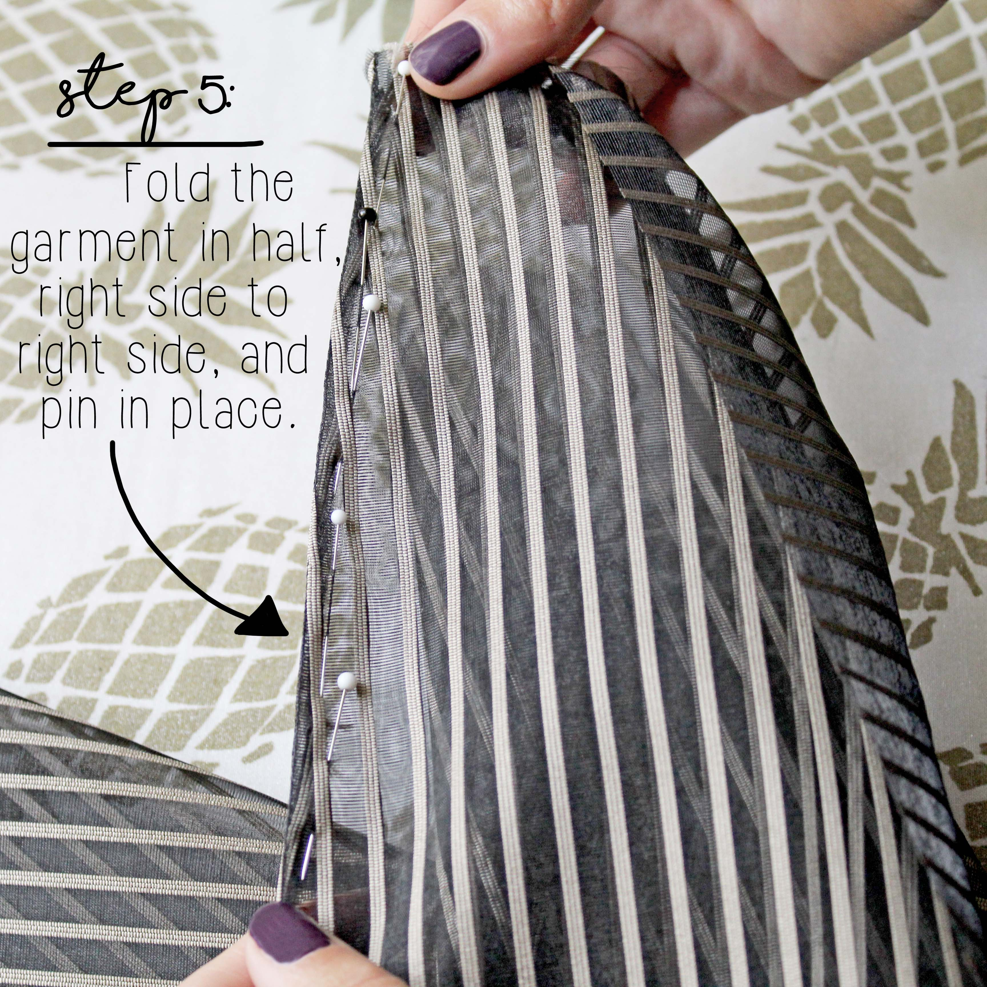 How To Sew A French Seam Sewing Tutorial Step 5