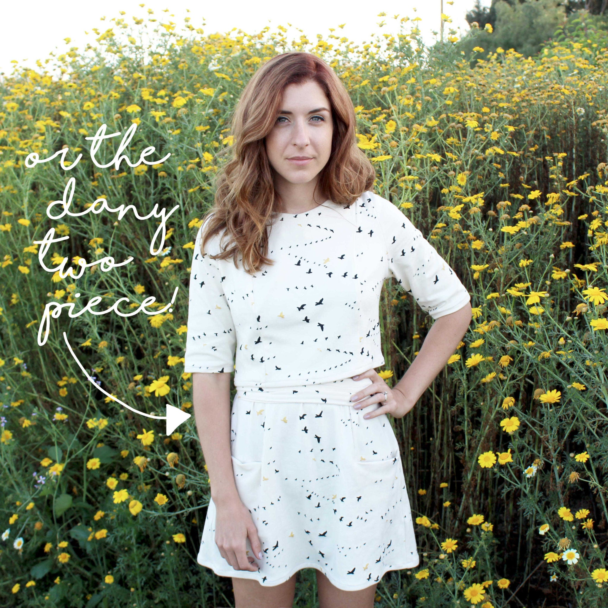Learn How To Sew Your Own Clothes: The Dany Two Piece Sewing Project