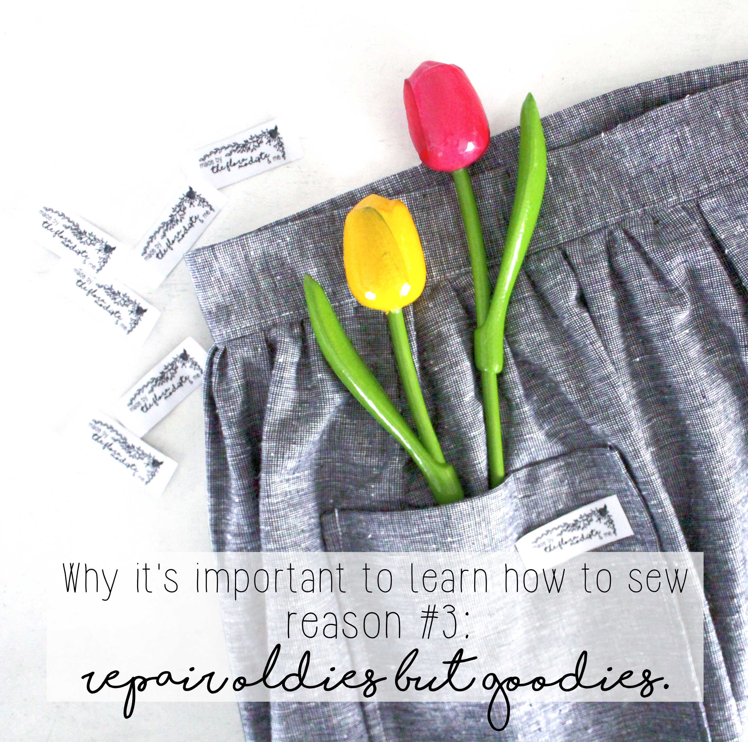Why It's Important To Learn How To Sew: Reason #3