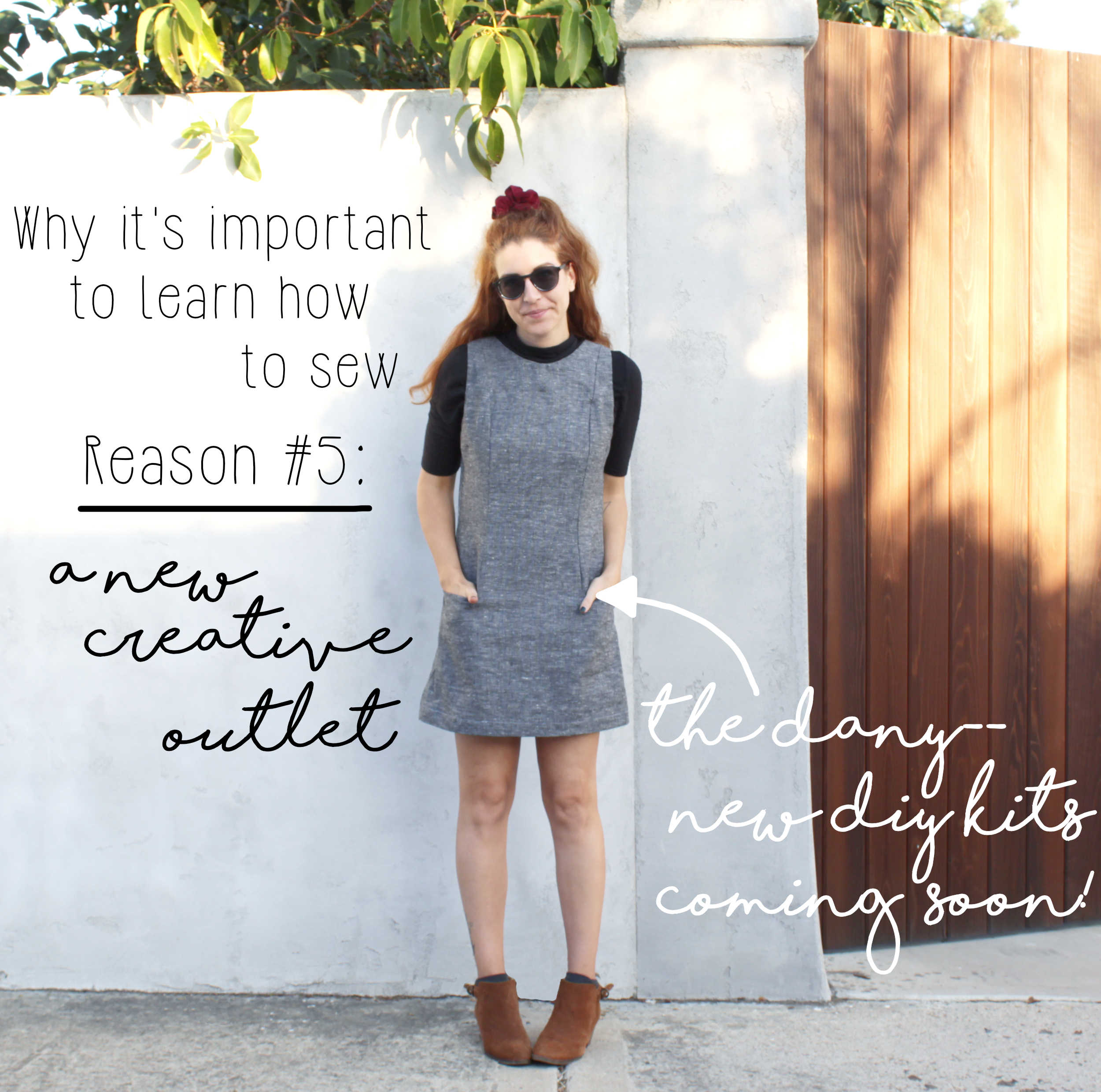 Why It's Important To Learn How To Sew: Reason #5