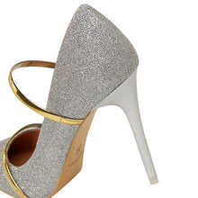 Load image into Gallery viewer, Bling Pumps Thin Heels