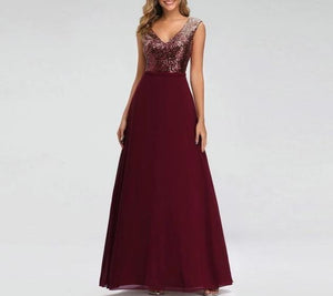 Draped Bridesmaid Dress