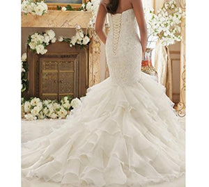 Sweetheart Mermaid Bridal Gown