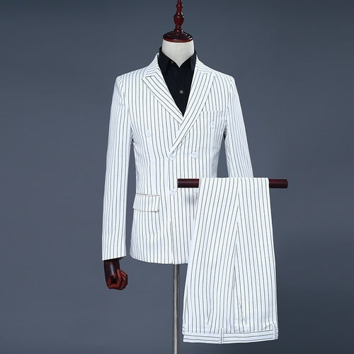 Stripe Gentle Suit