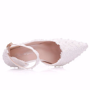 Flower Lace Shoes