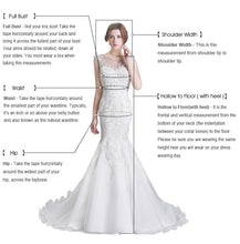 Load image into Gallery viewer, Lace Appliques Bridesmaid Gowns