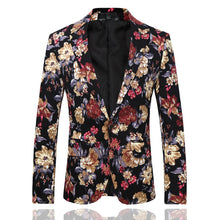 Load image into Gallery viewer, Vintage Flower Print Suit