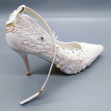 Load image into Gallery viewer, Ankle strap Bridal Pumps Shoes
