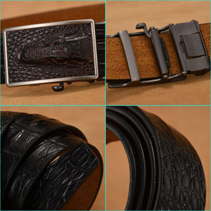 Crocodile Luxury Belt