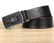 Load image into Gallery viewer, Crocodile Luxury Belt
