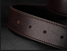 Load image into Gallery viewer, Cowskin Belts For Men
